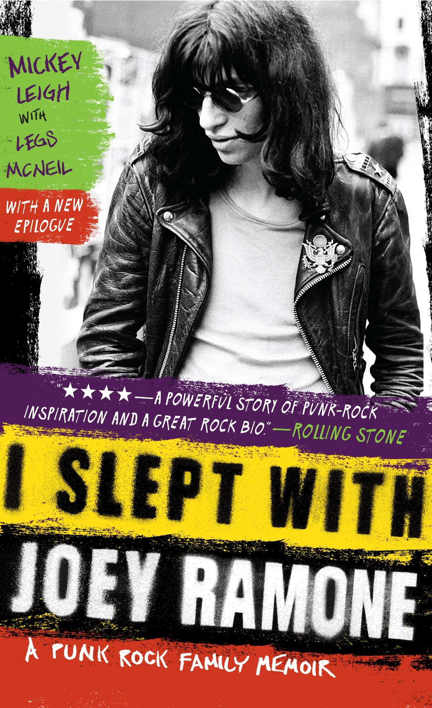 I slept with joey ramone 9781439159750 hr