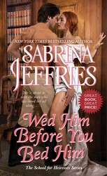 Wed Him Before You Bed Him book cover