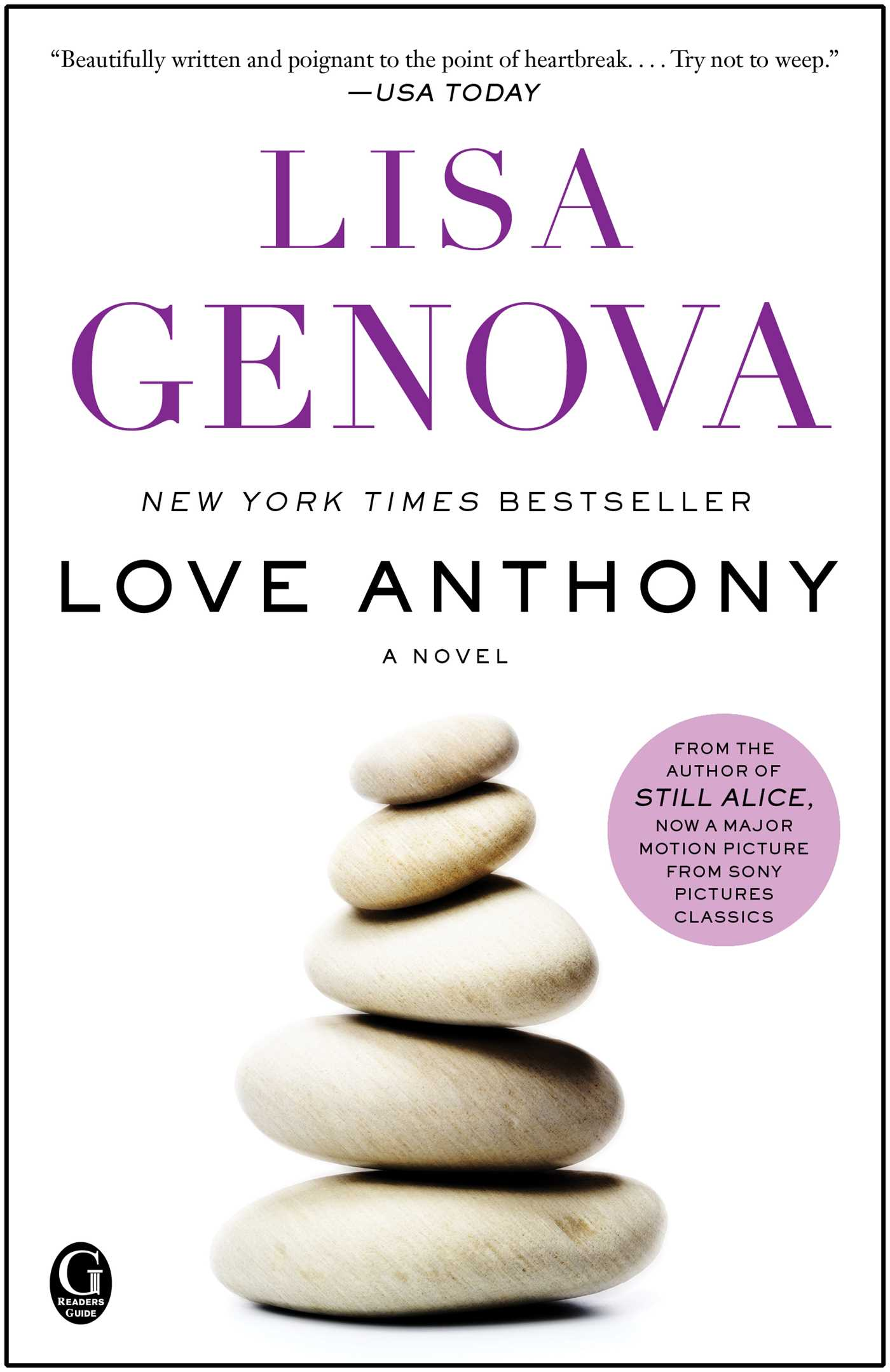 Love Anthony Book By Lisa Genova Official Publisher Page Simon