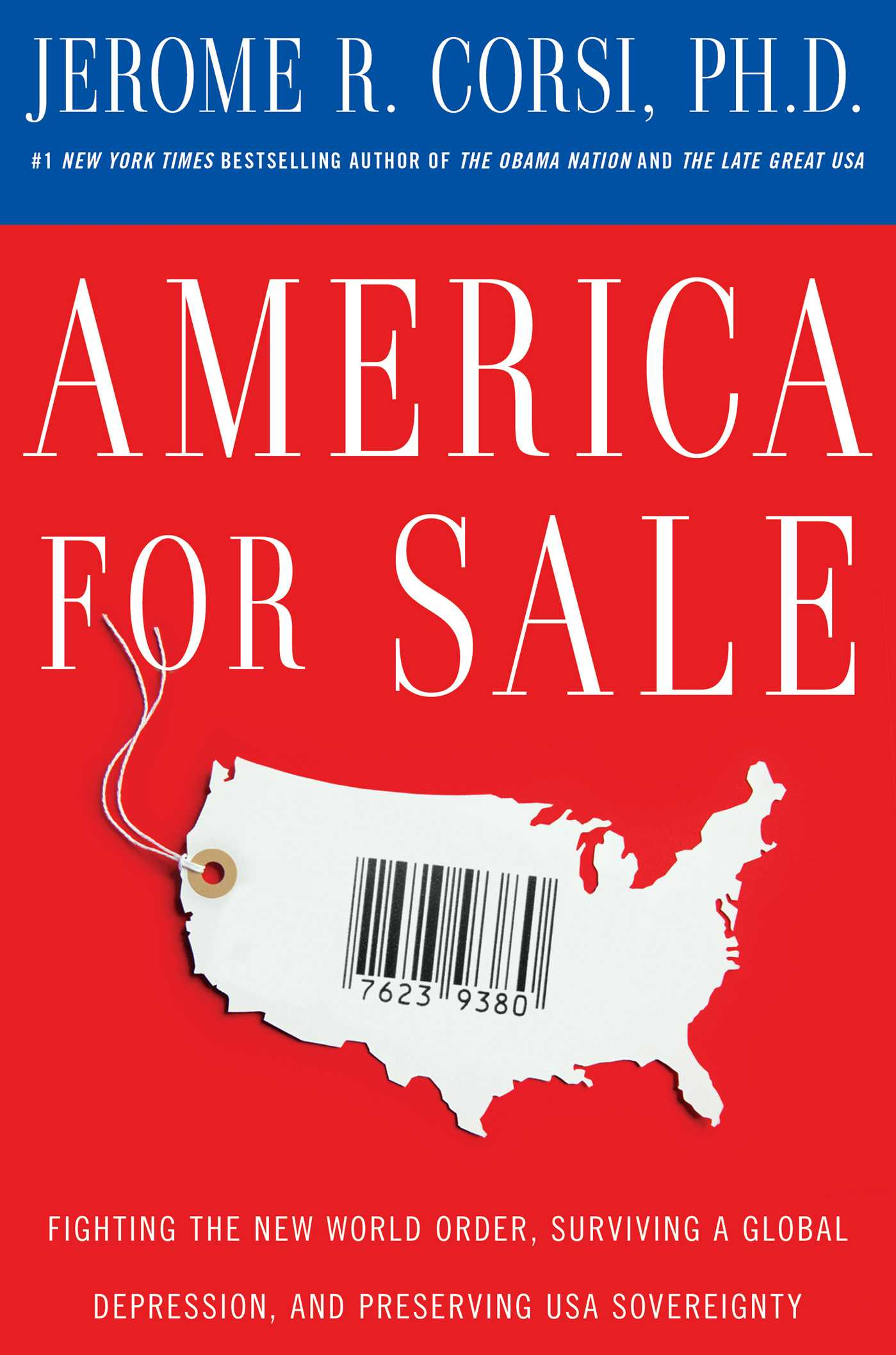 America for sale 9781439166871 hr