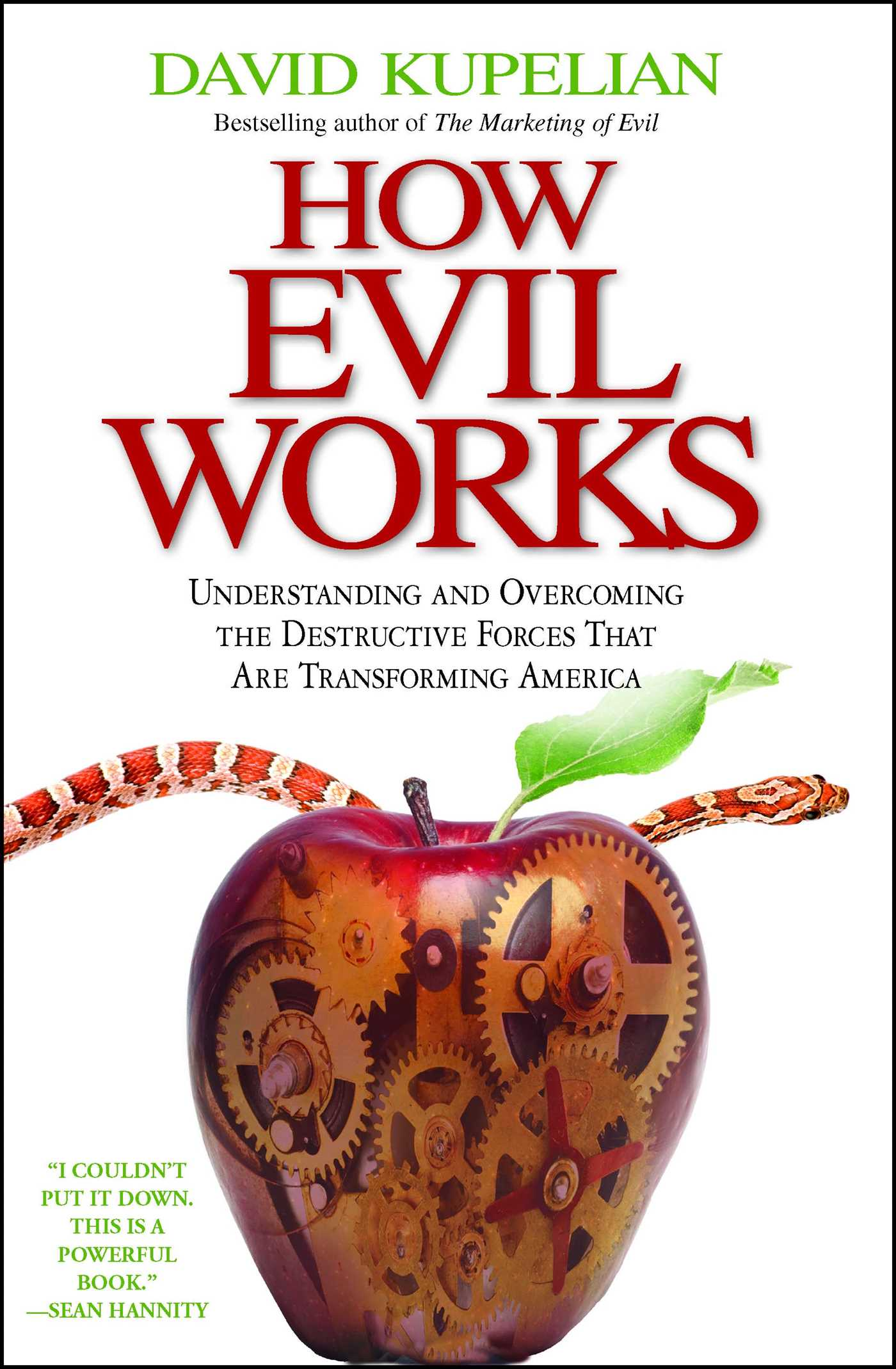 How evil works 9781439168202 hr