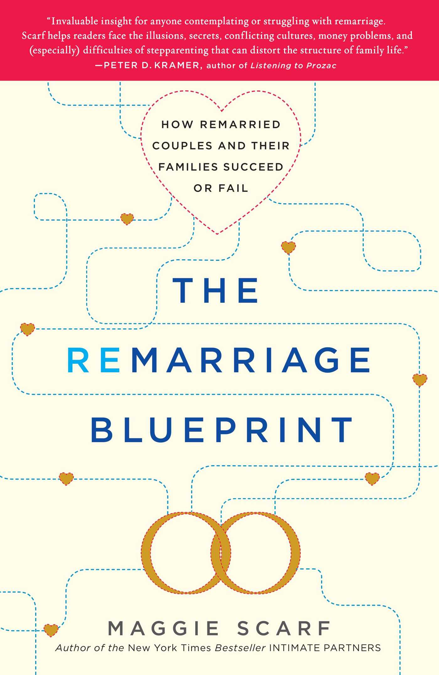 The remarriage blueprint book by maggie scarf official publisher the remarriage blueprint 9781439169544 hr malvernweather Images