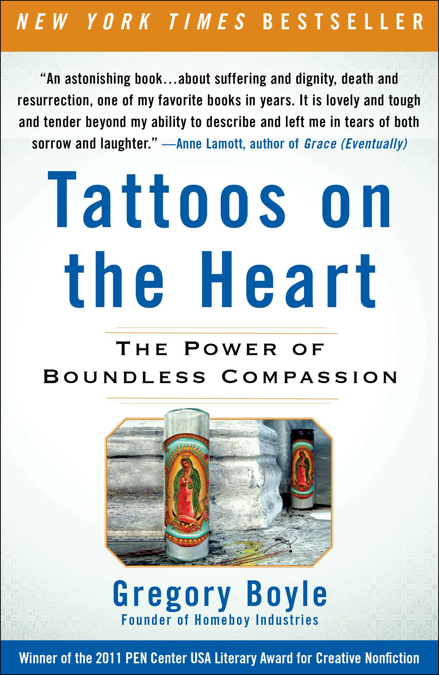 Tattoos on the heart 9781439171776 hr
