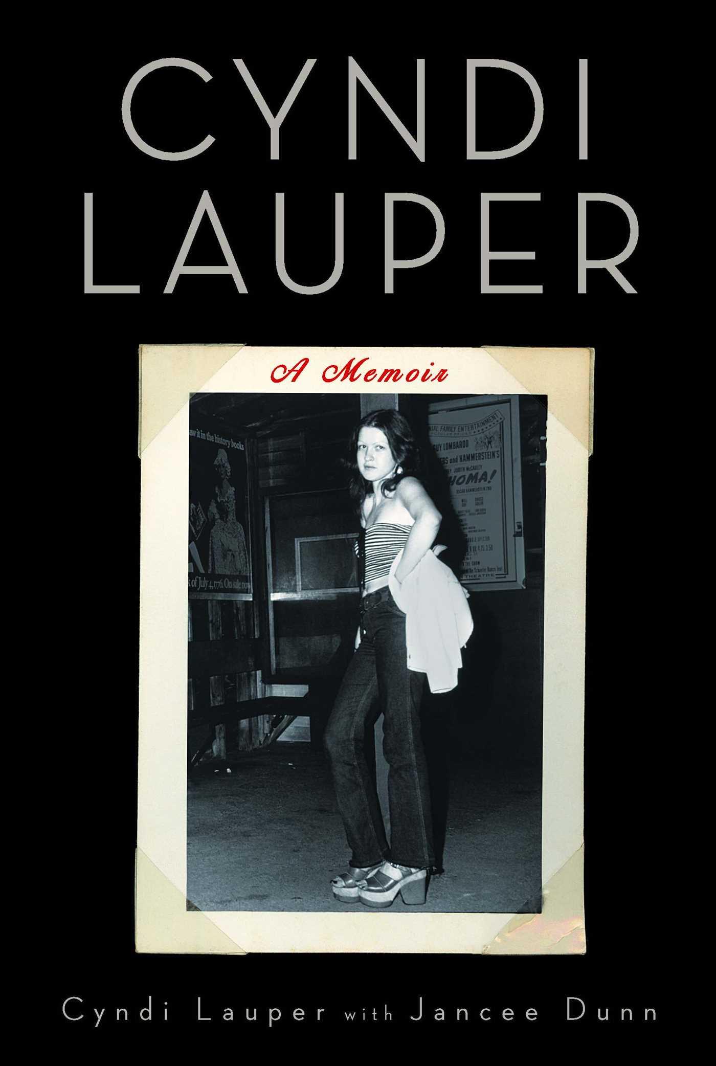 Cyndi lauper a memoir 9781439172193 hr