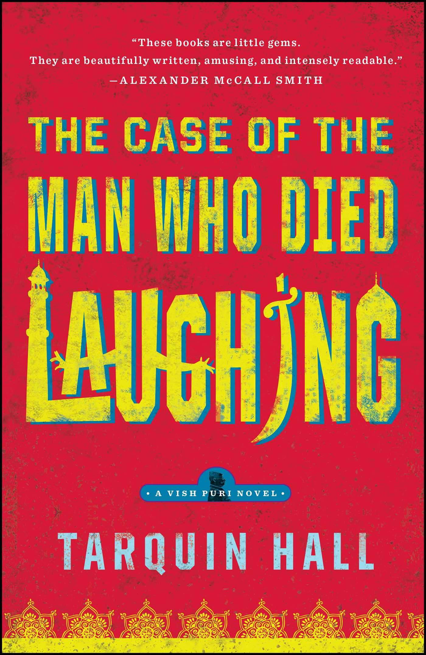 The case of the man who died laughing 9781439172384 hr