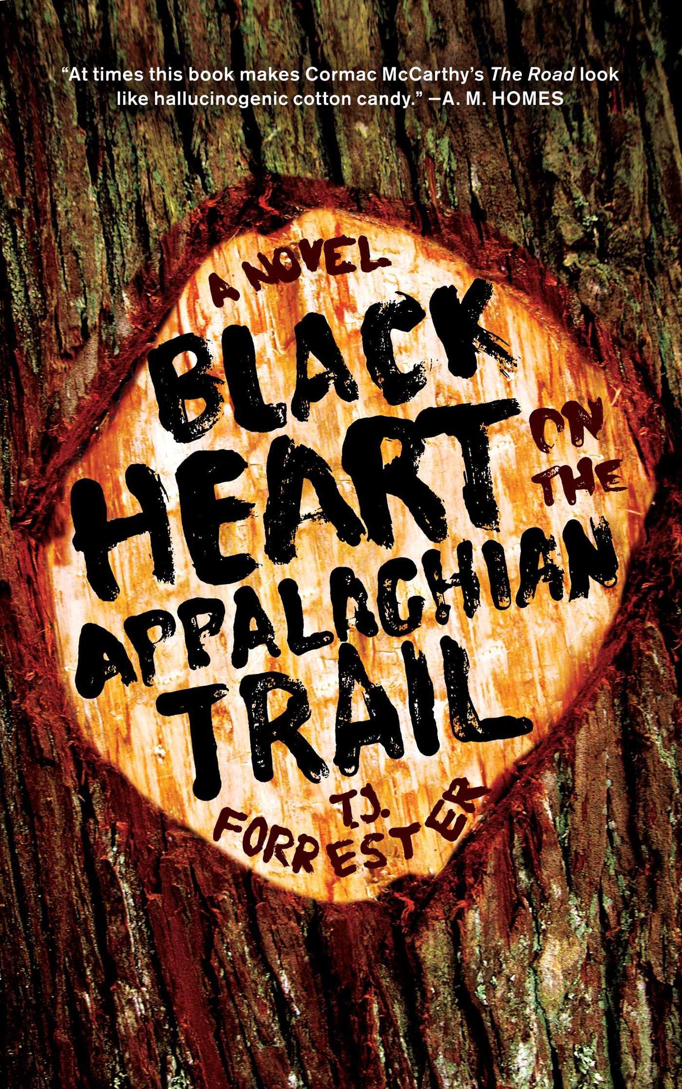 Black heart on the appalachian trail 9781439175613 hr