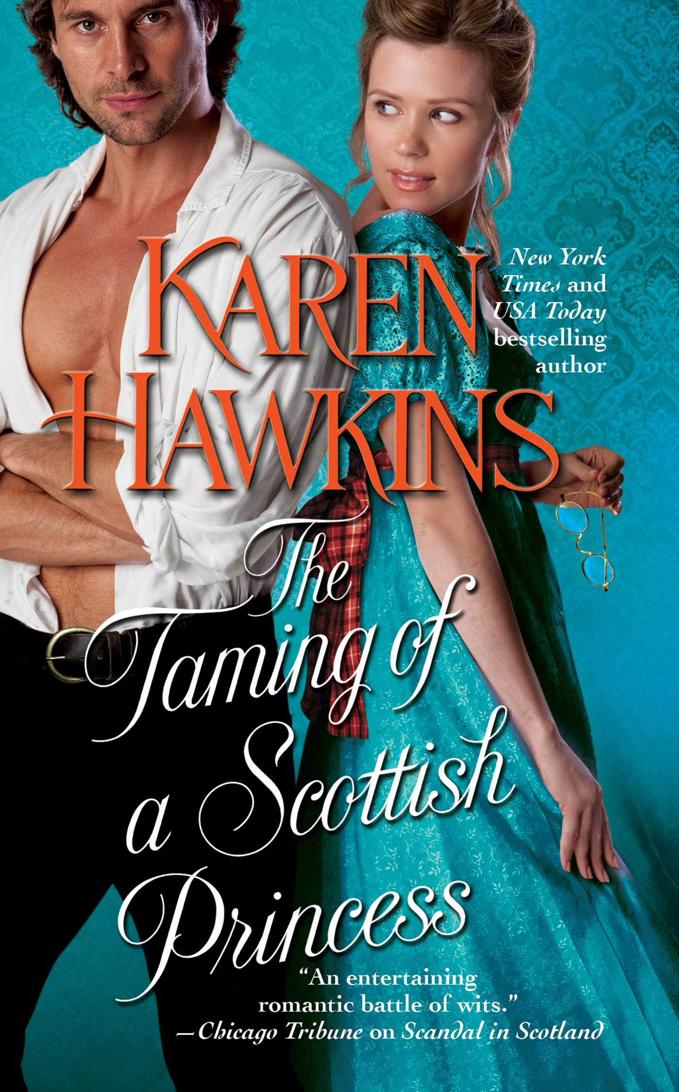 The Taming Of A Scottish Princess 9781439176030 Hr