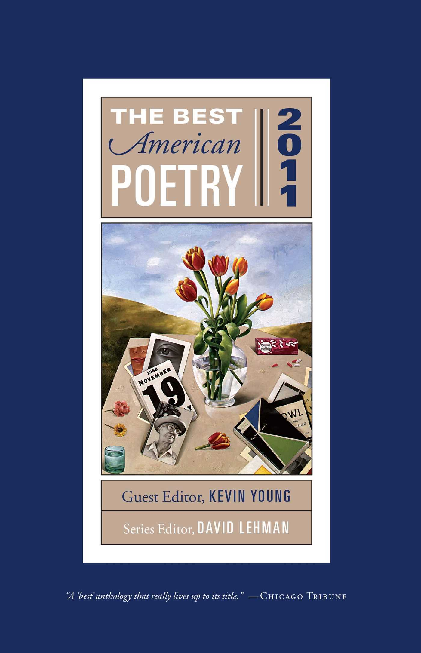 The best american poetry 2011 9781439181515 hr