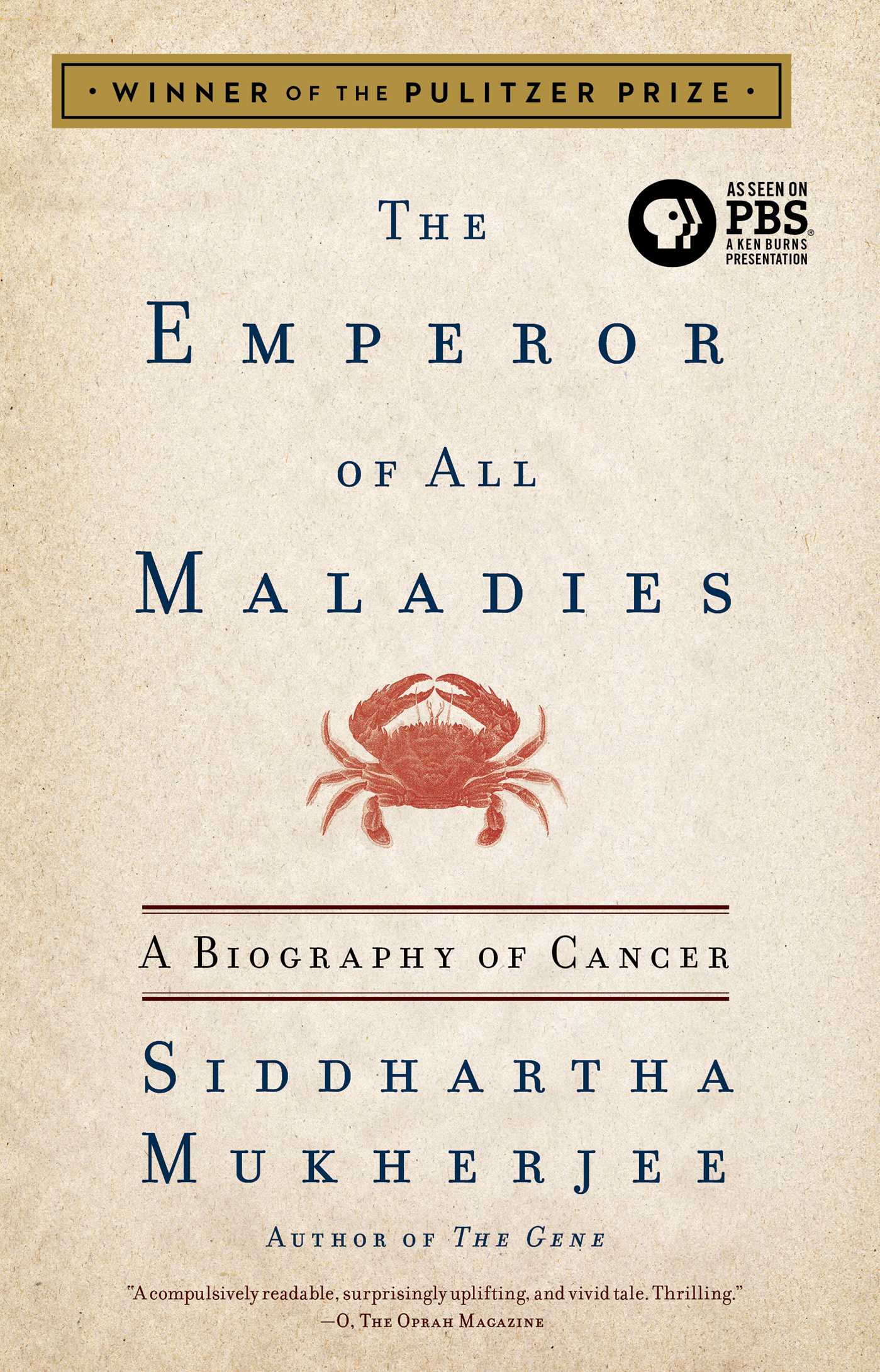 The emperor of all maladies 9781439181713 hr