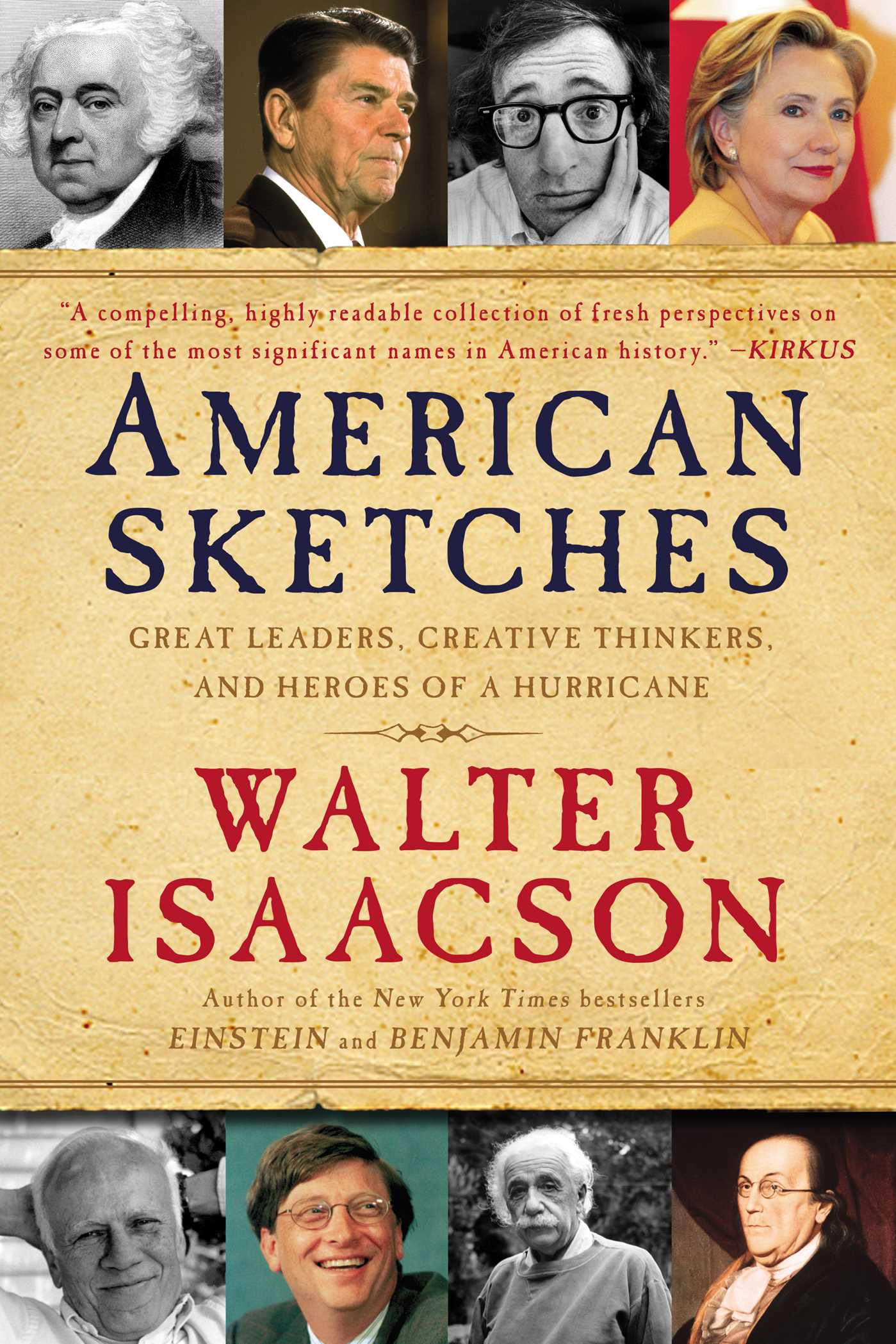 American sketches 9781439183458 hr