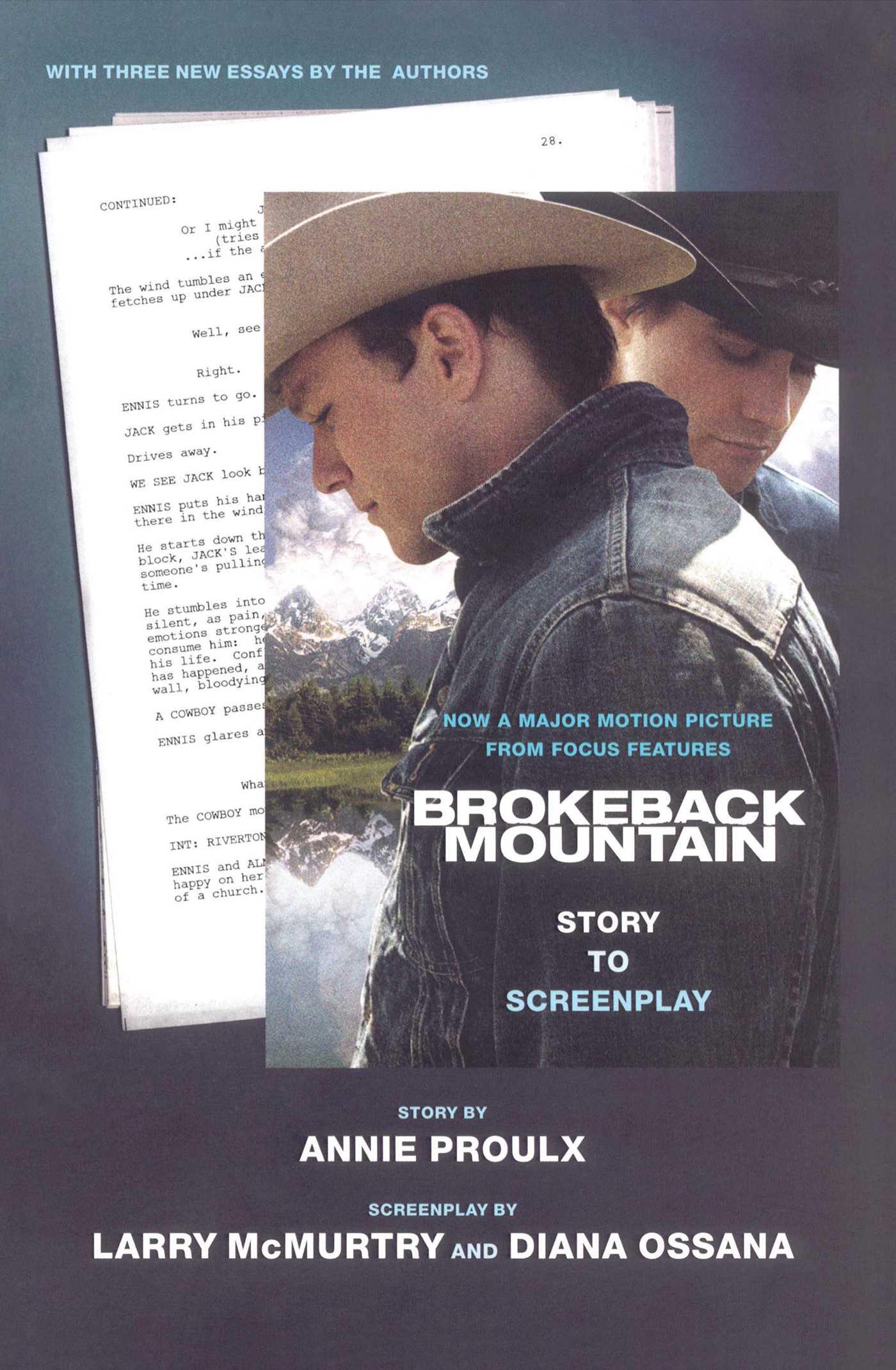 Brokeback mountain story to screenplay 9781439188576 hr