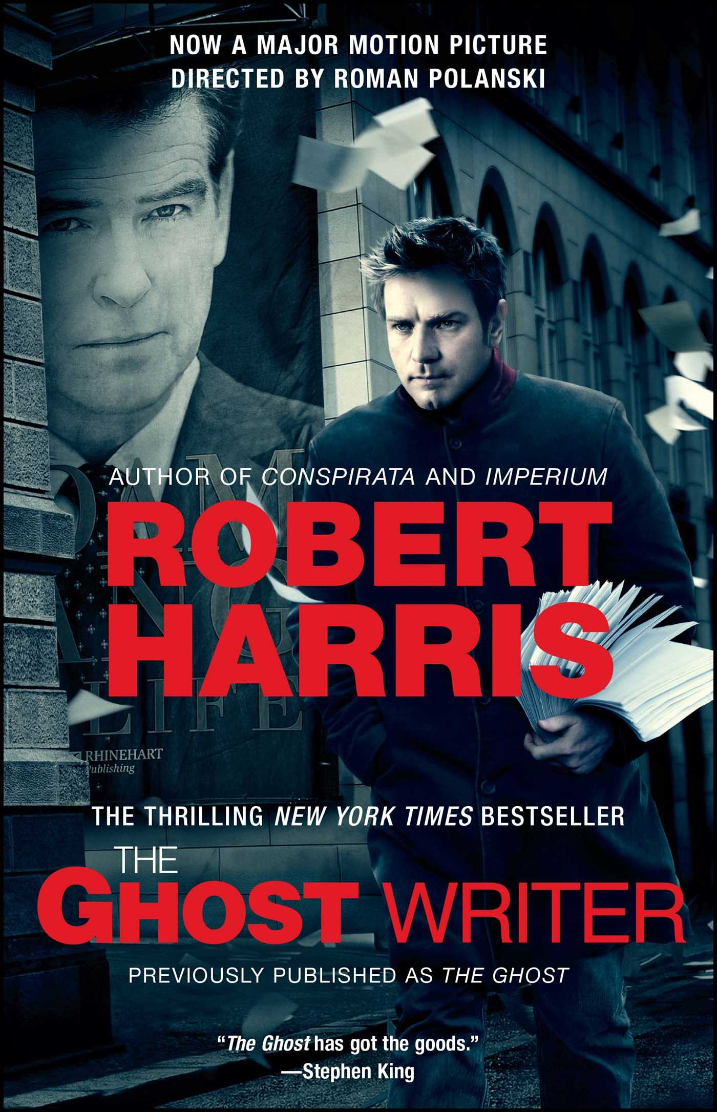 The ghost writer 9781439190555 hr