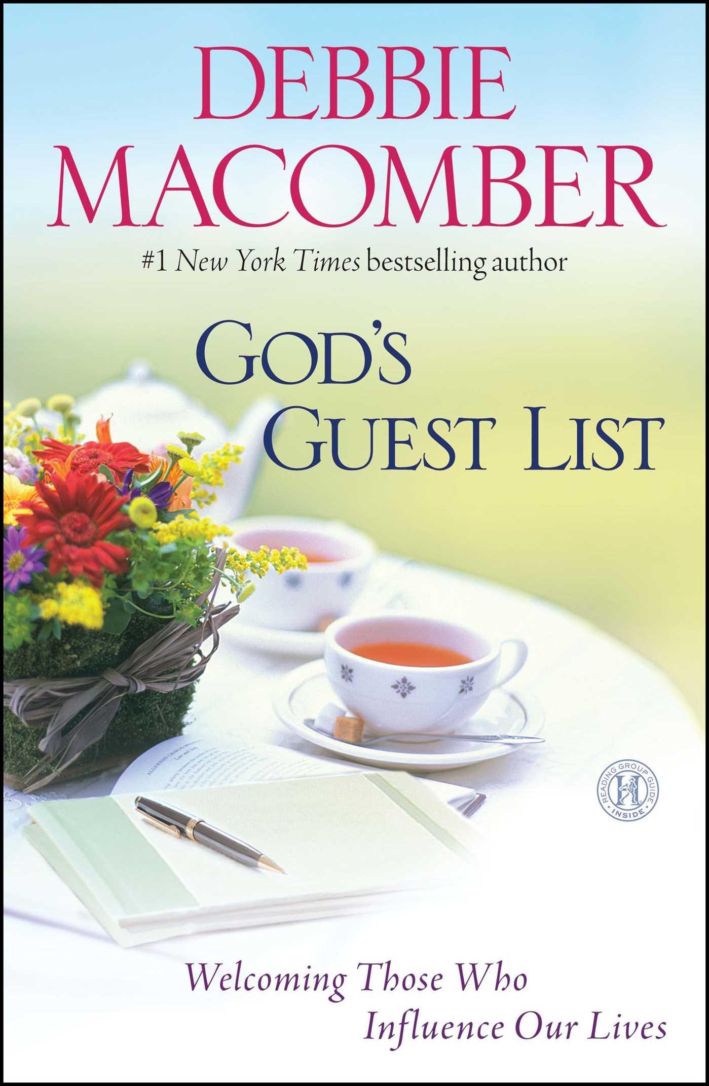 Gods guest list 9781439190647 hr