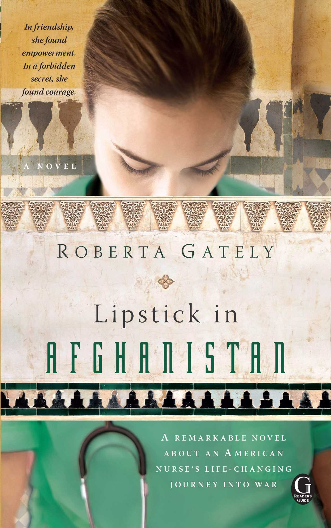 Lipstick in afghanistan 9781439191385 hr