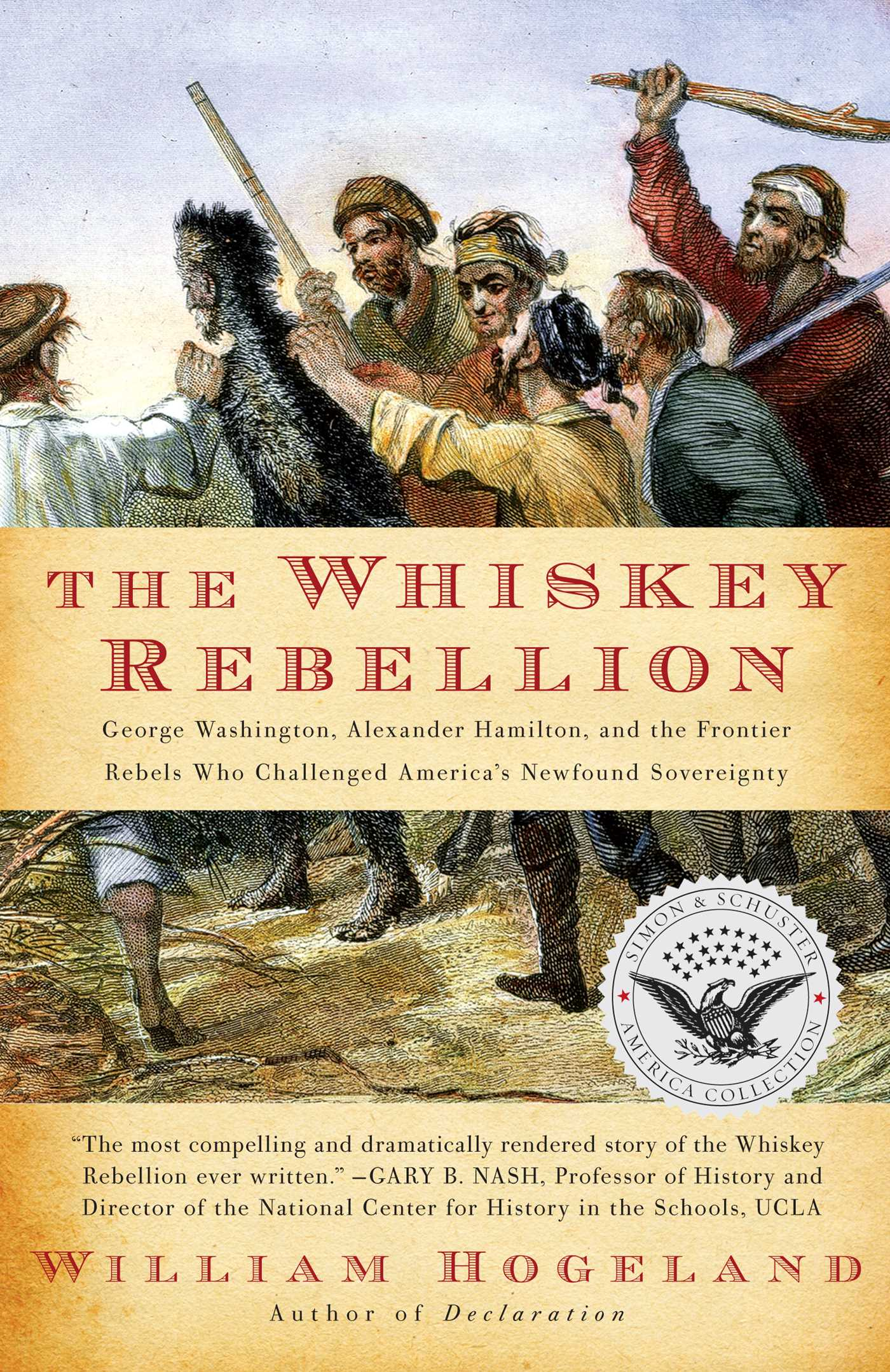 The whiskey rebellion 9781439193297 hr