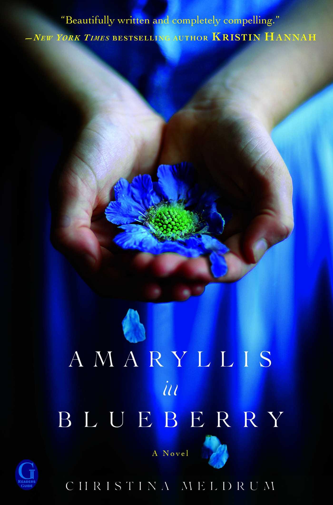 Amaryllis in blueberry 9781439195369 hr