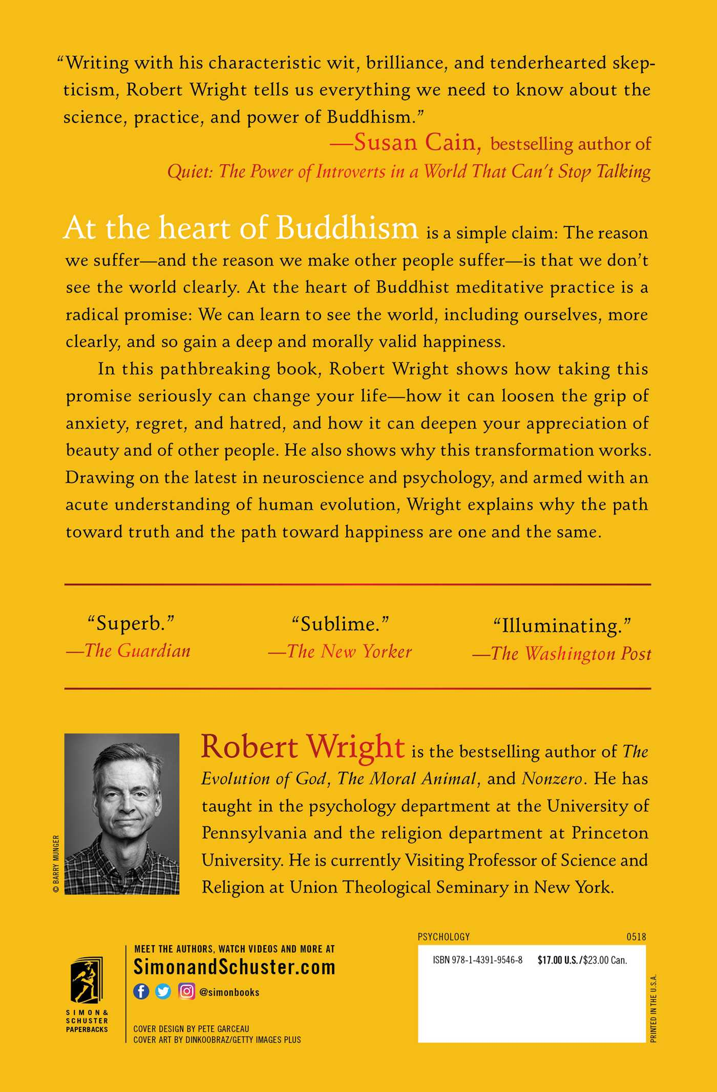 Why buddhism is true 9781439195468 hr back