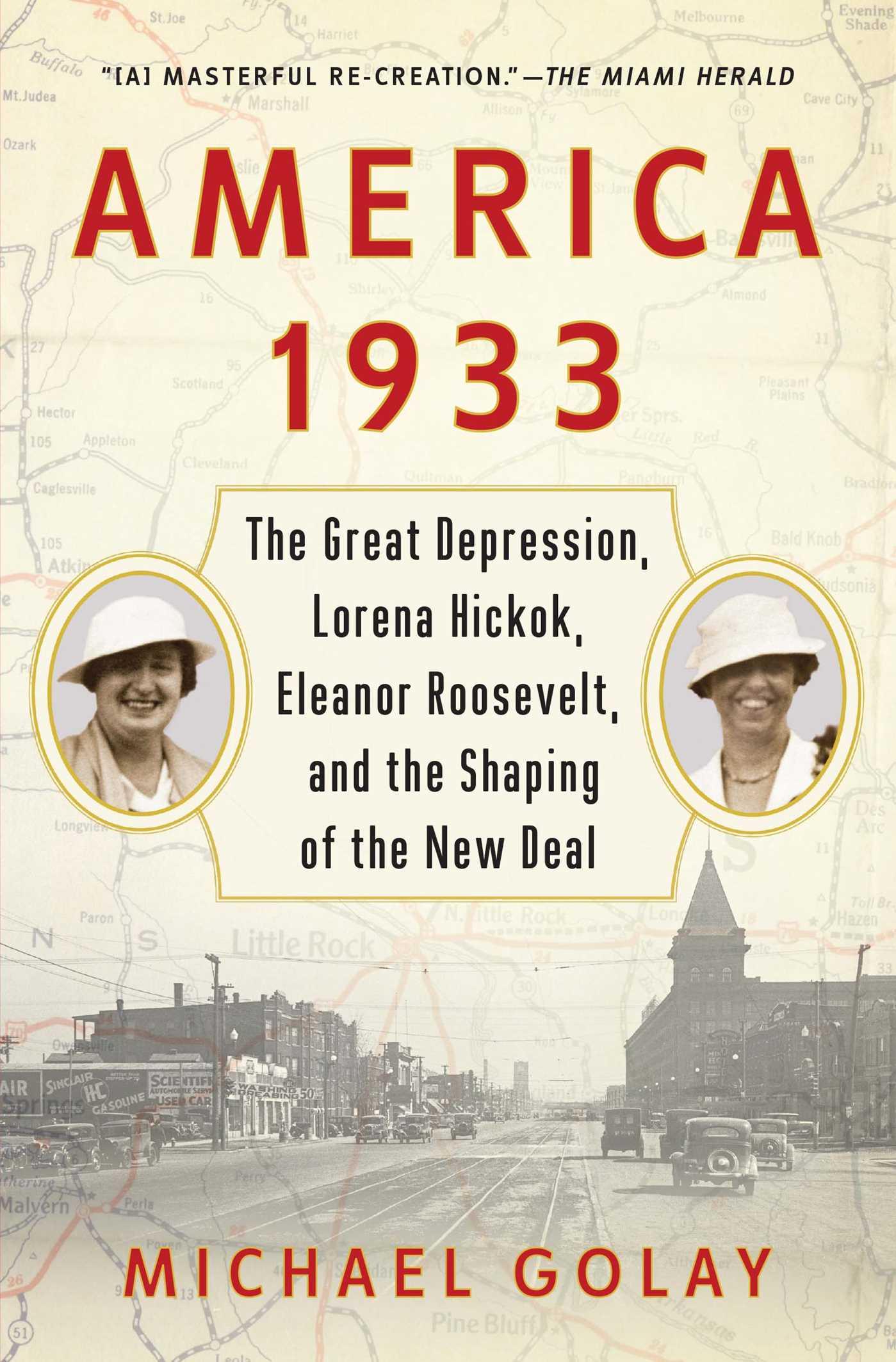 Book Cover Image (jpg): America 1933
