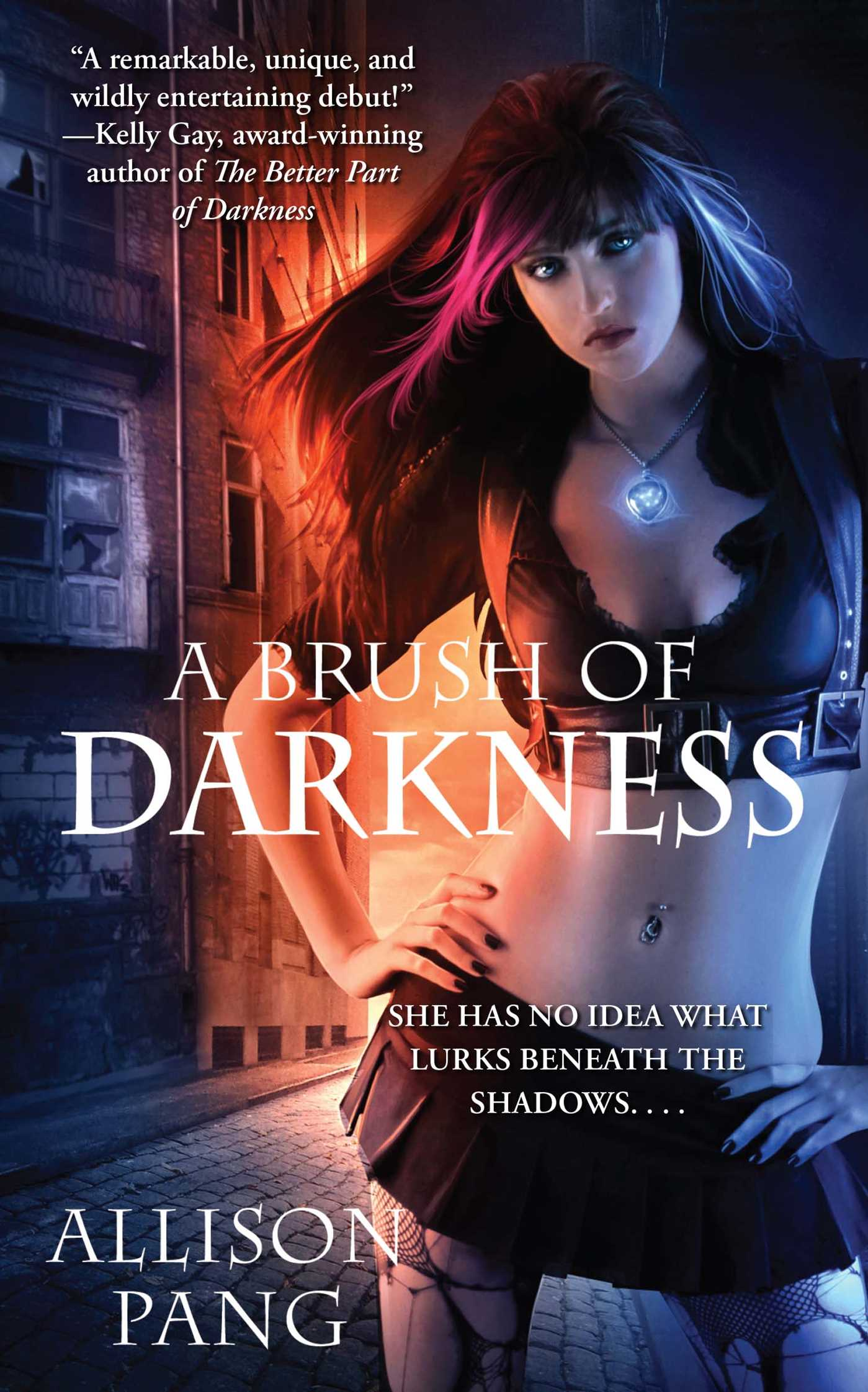 A brush of darkness 9781439198414 hr