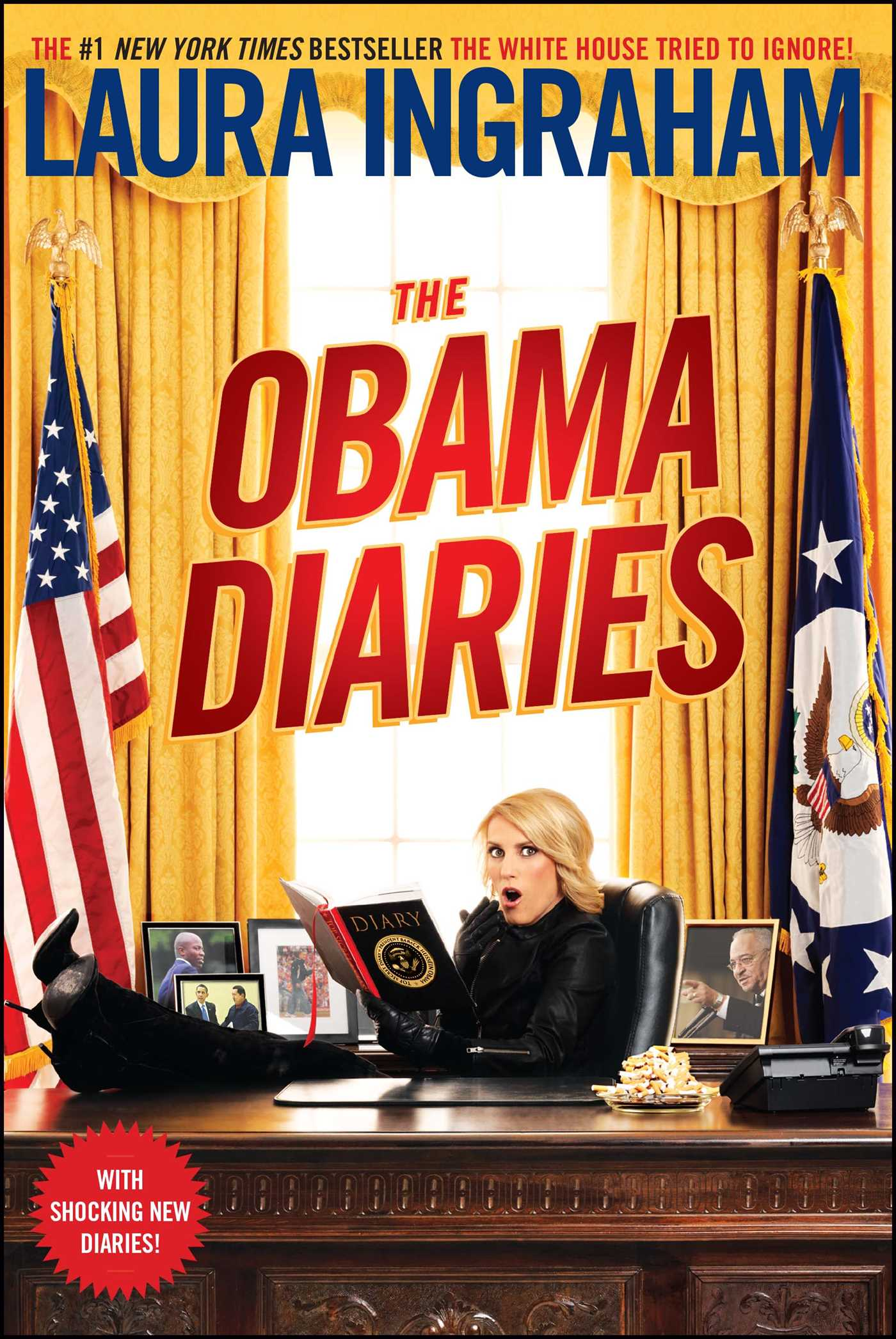 The obama diaries 9781439198452 hr