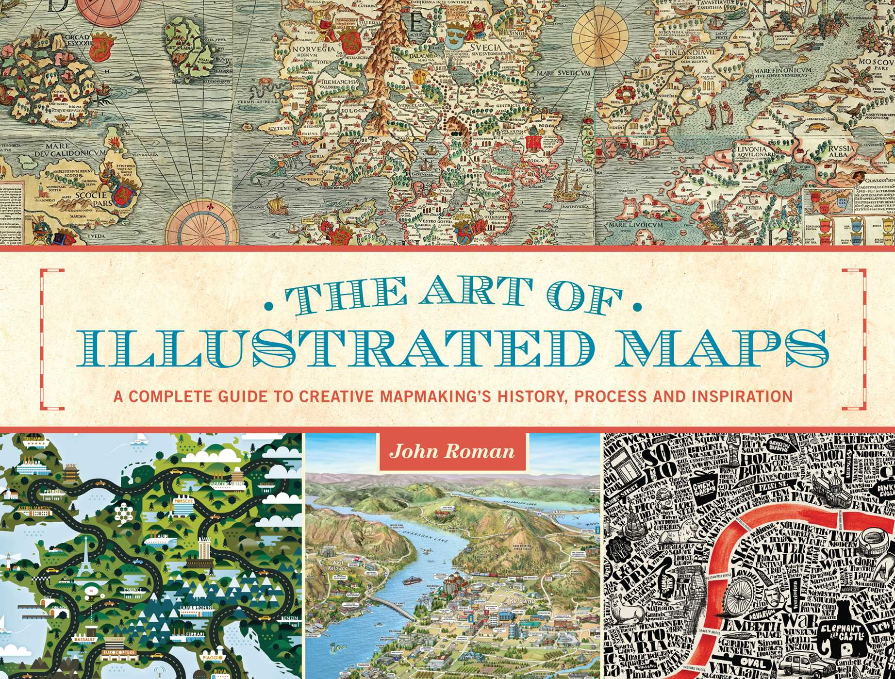 The art of illustrated maps ebook by john roman official publisher the art of illustrated maps 9781440339622 hr gumiabroncs Choice Image
