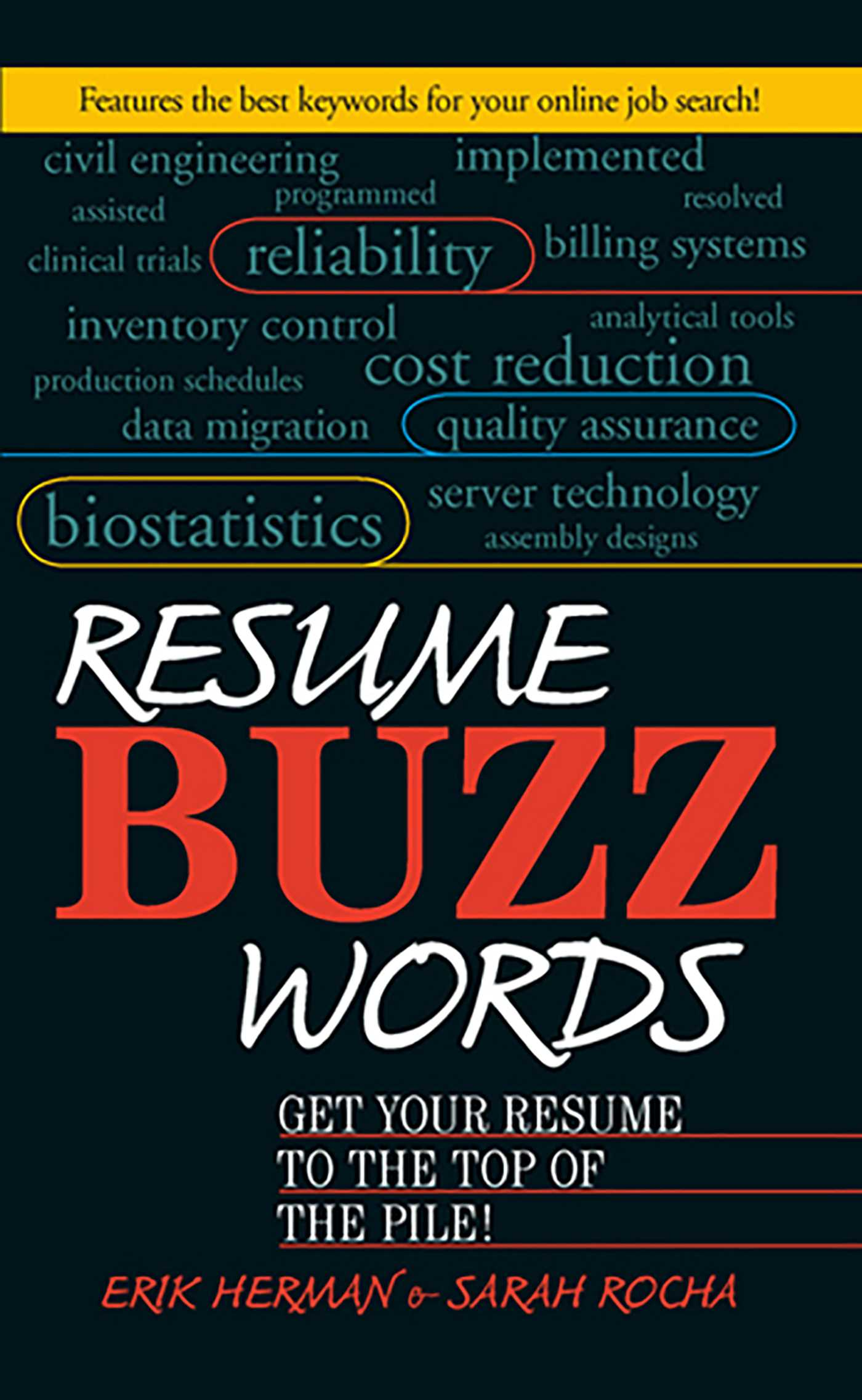 resume buzz words ebook by erik herman sarah rocha official