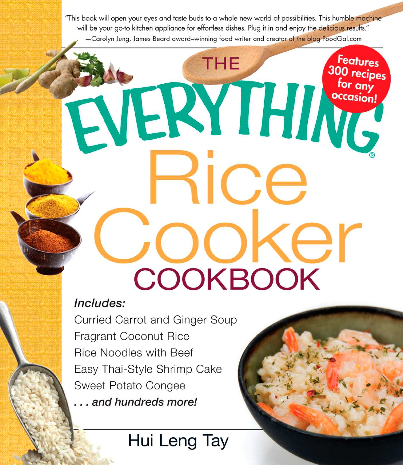 The everything rice cooker cookbook 9781440502347 hr