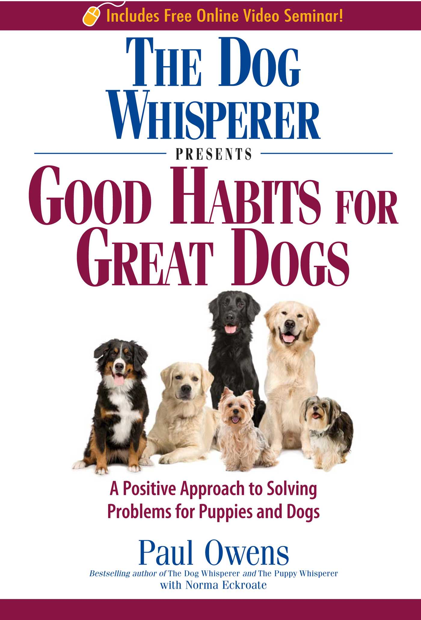 The dog whisperer presents good habits for great dogs 9781440503214 hr