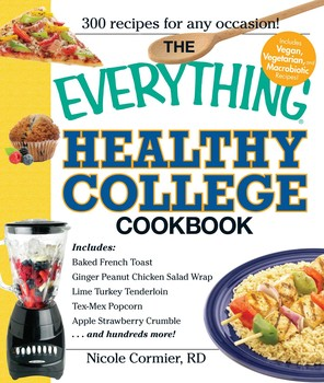 The everything healthy college cookbook ebook by nicole cormier the everything healthy college cookbook fandeluxe Choice Image