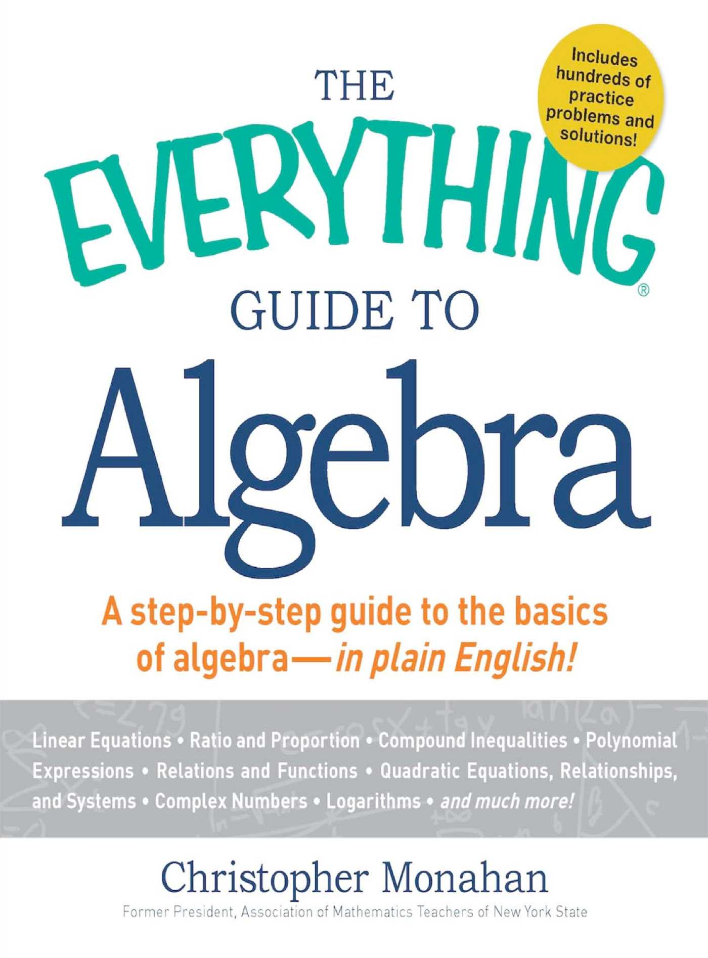 The Everything Guide to Algebra eBook by Christopher Monahan ...