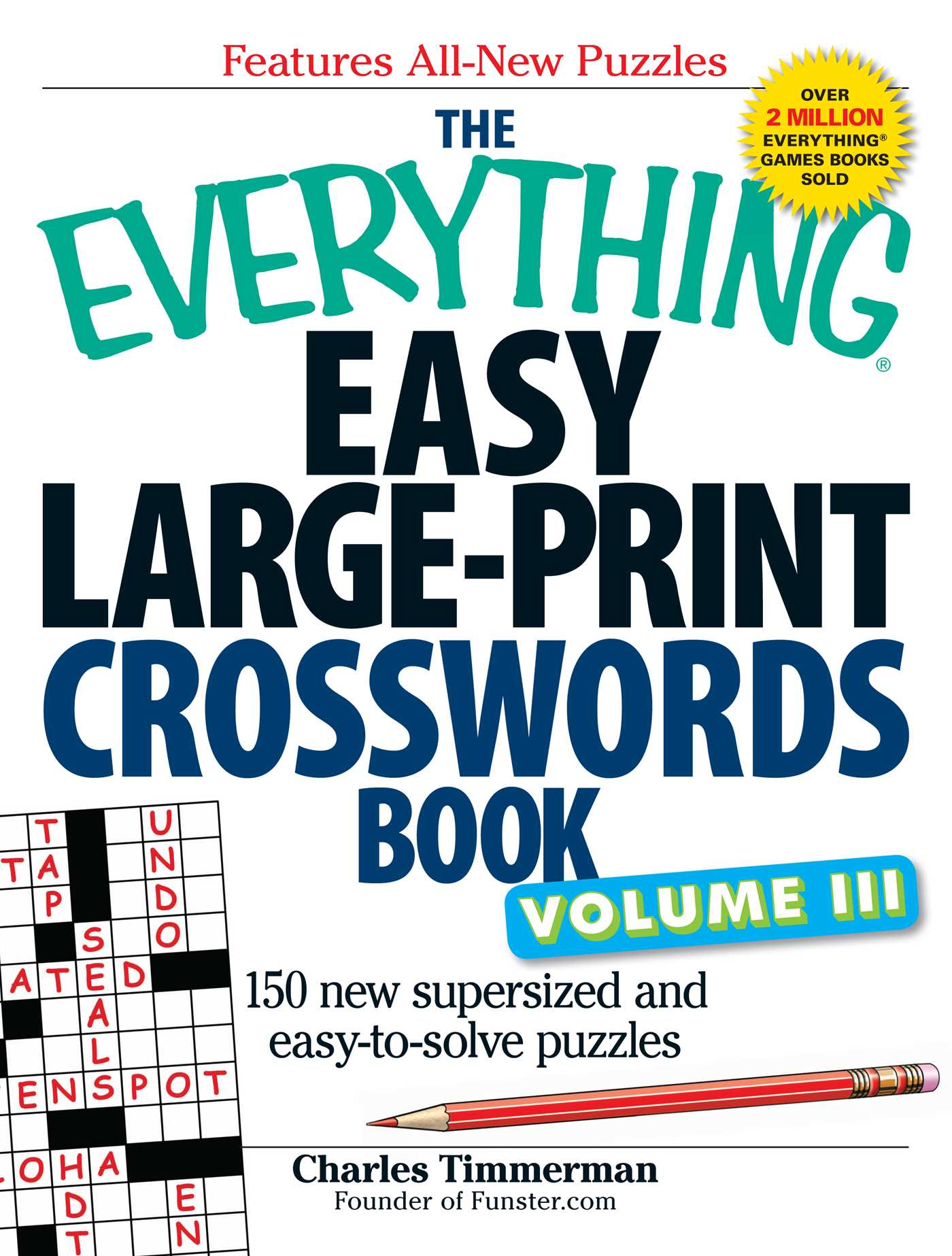 The everything easy large print crosswords book volume iii 9781440509728 hr