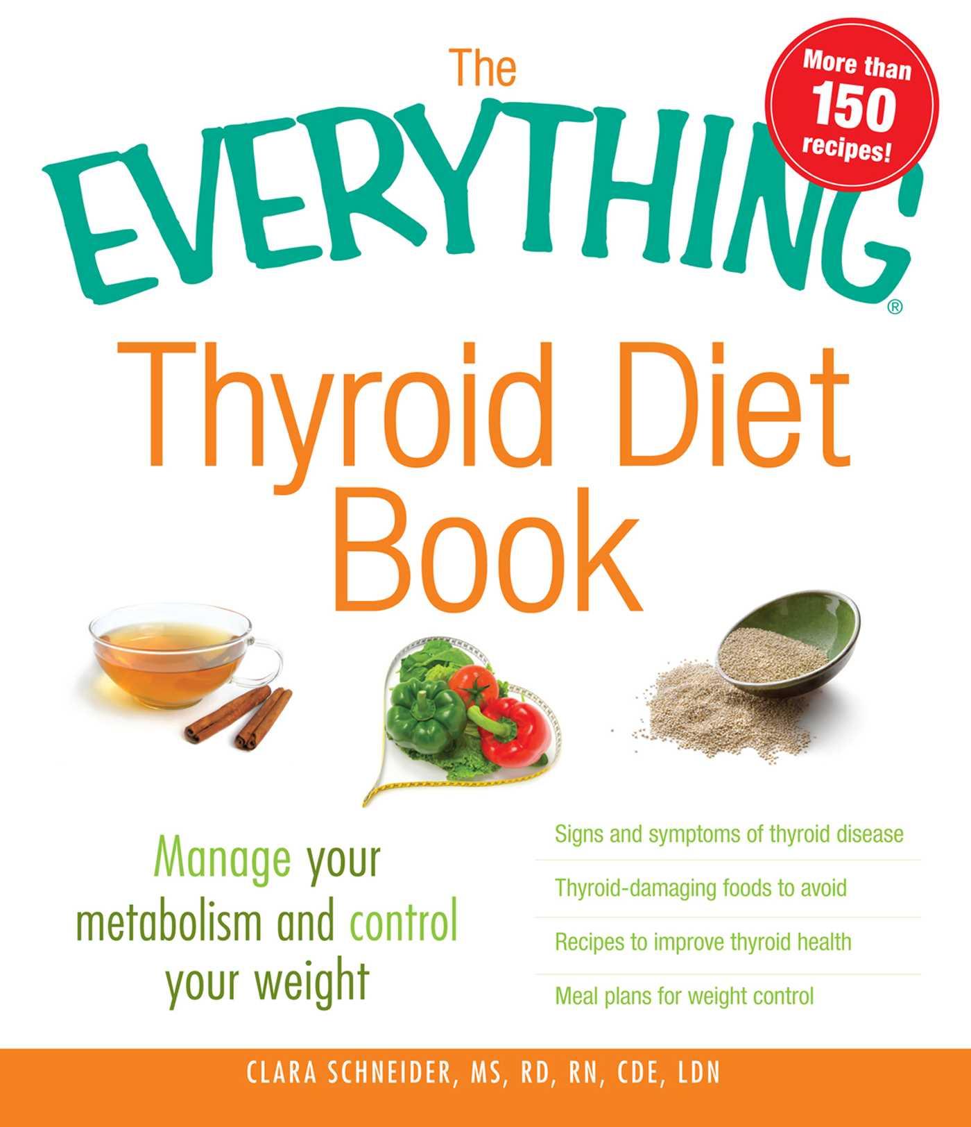 The everything thyroid diet book 9781440511554 hr