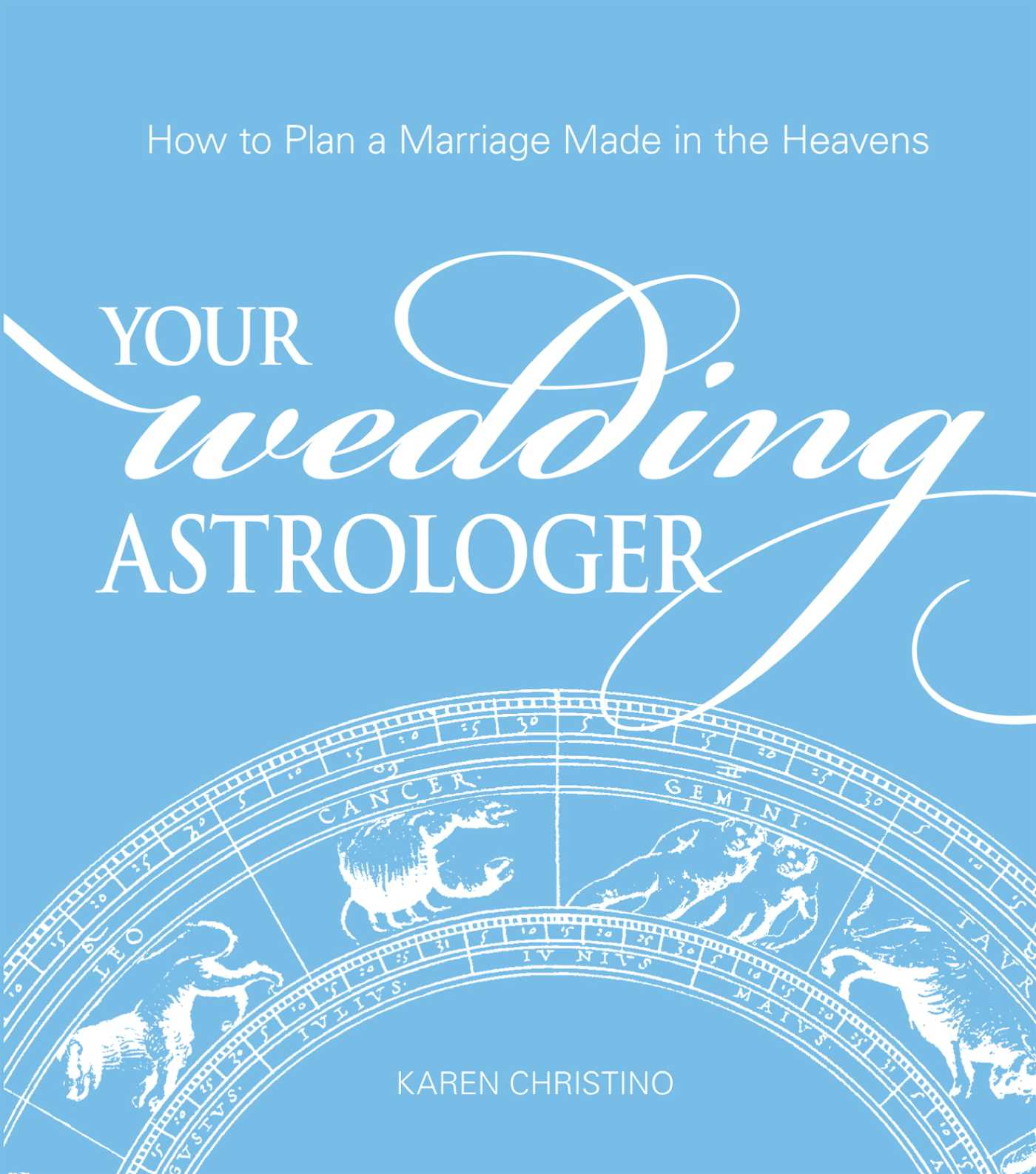 Your wedding astrologer 9781440515347 hr