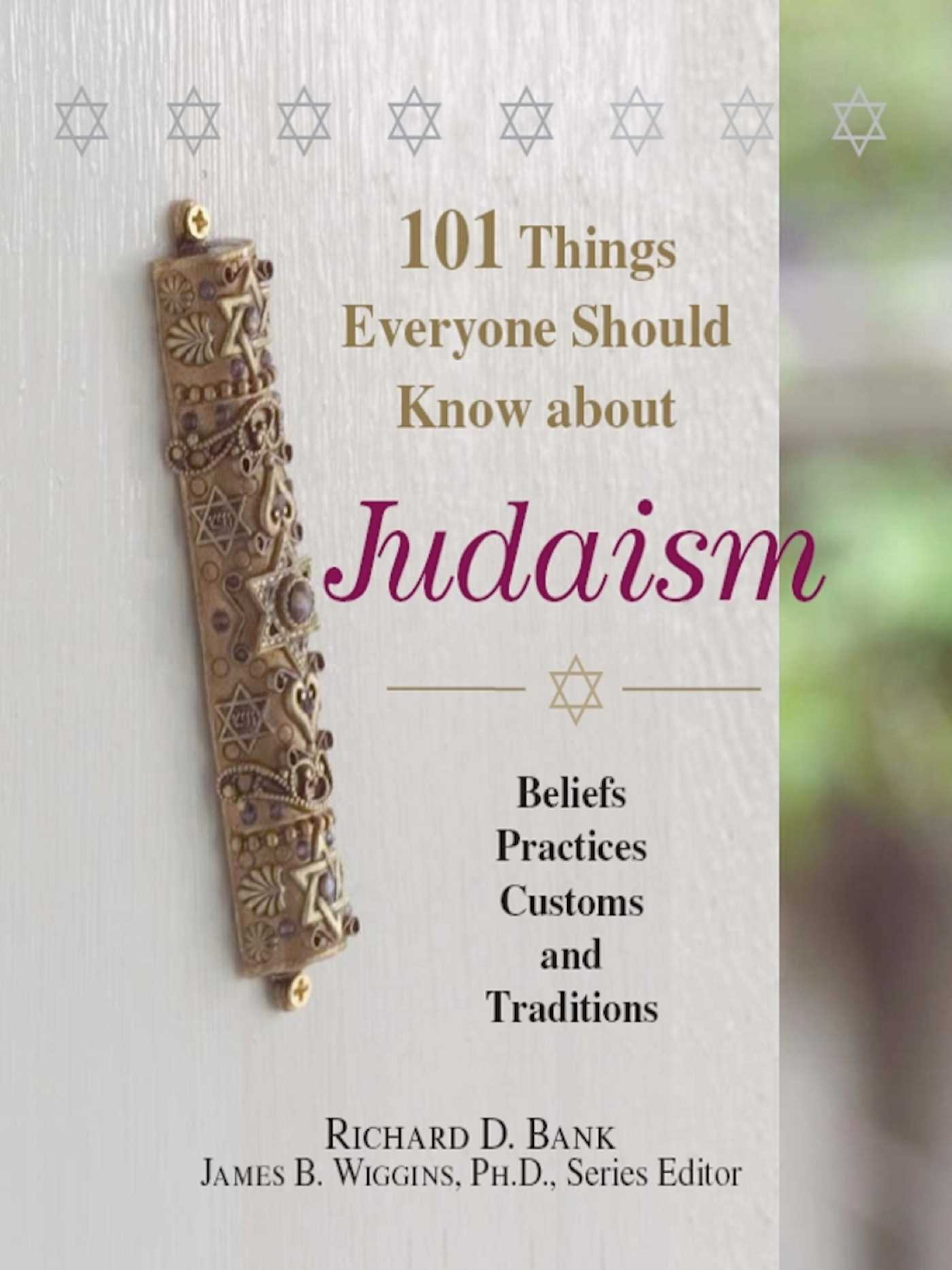 101 things everyone should know about judaism 9781440518645 hr