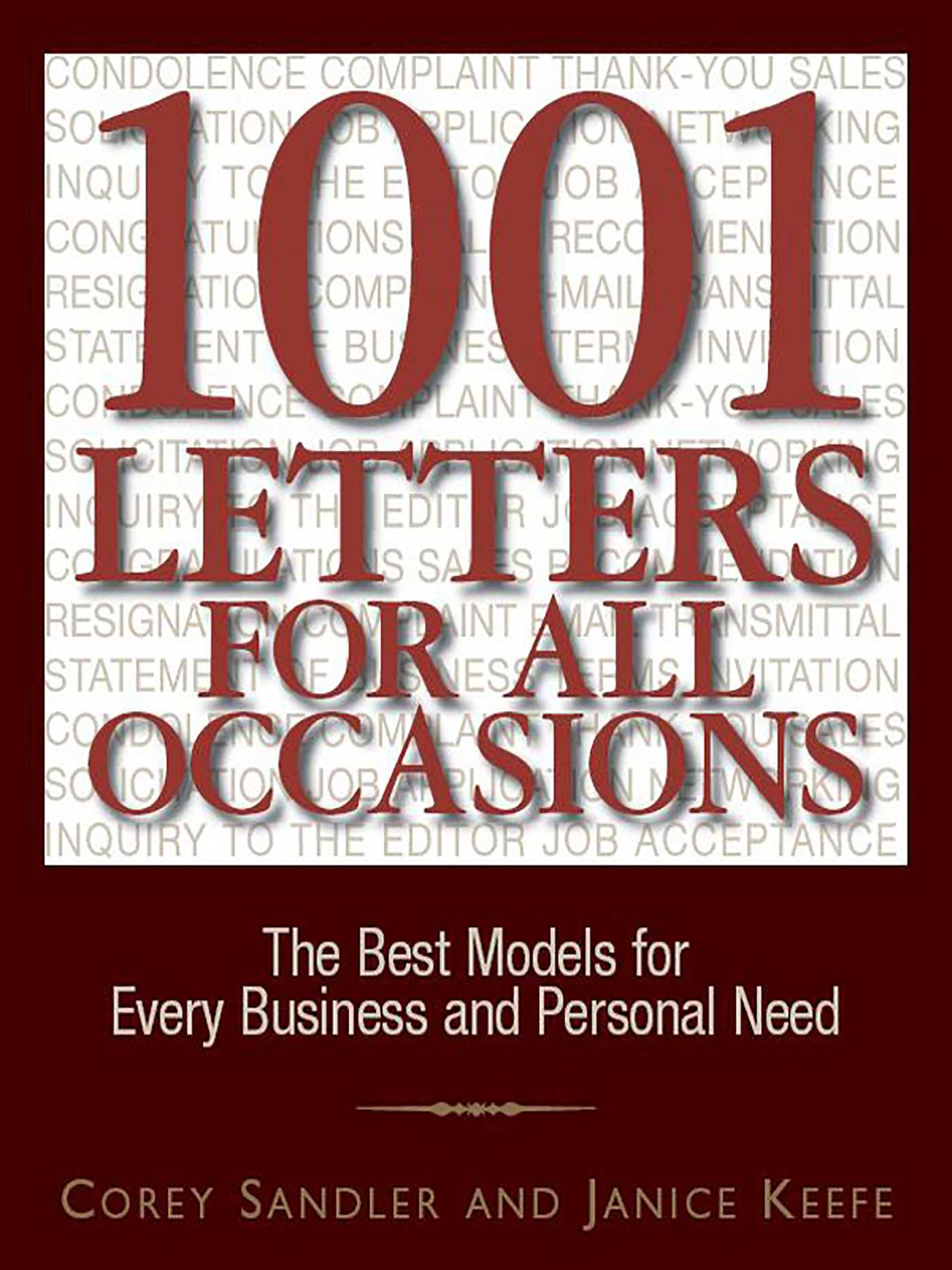 1001 letters for all occasions 9781440519147 hr