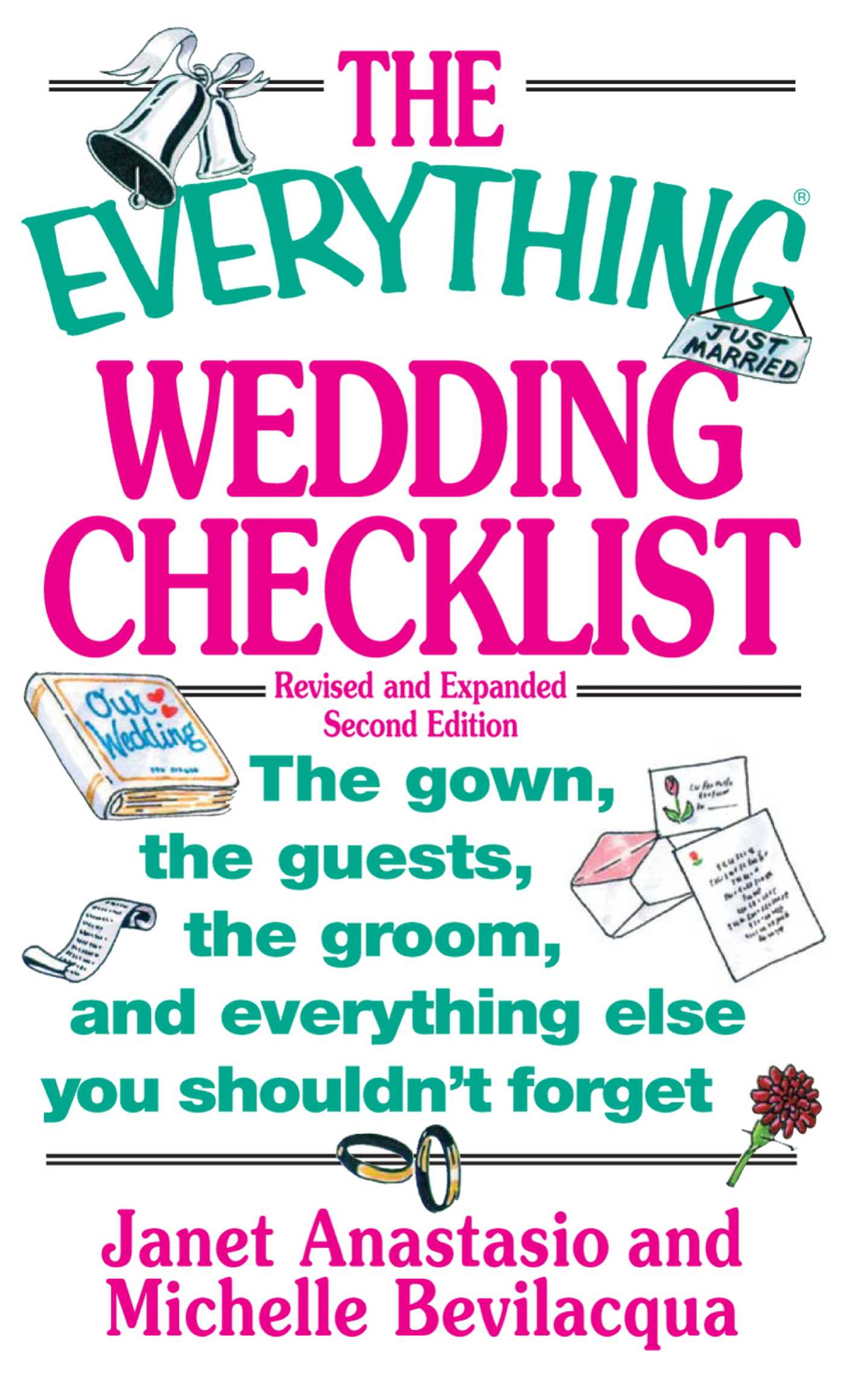 The everything wedding checklist 9781440522239 hr