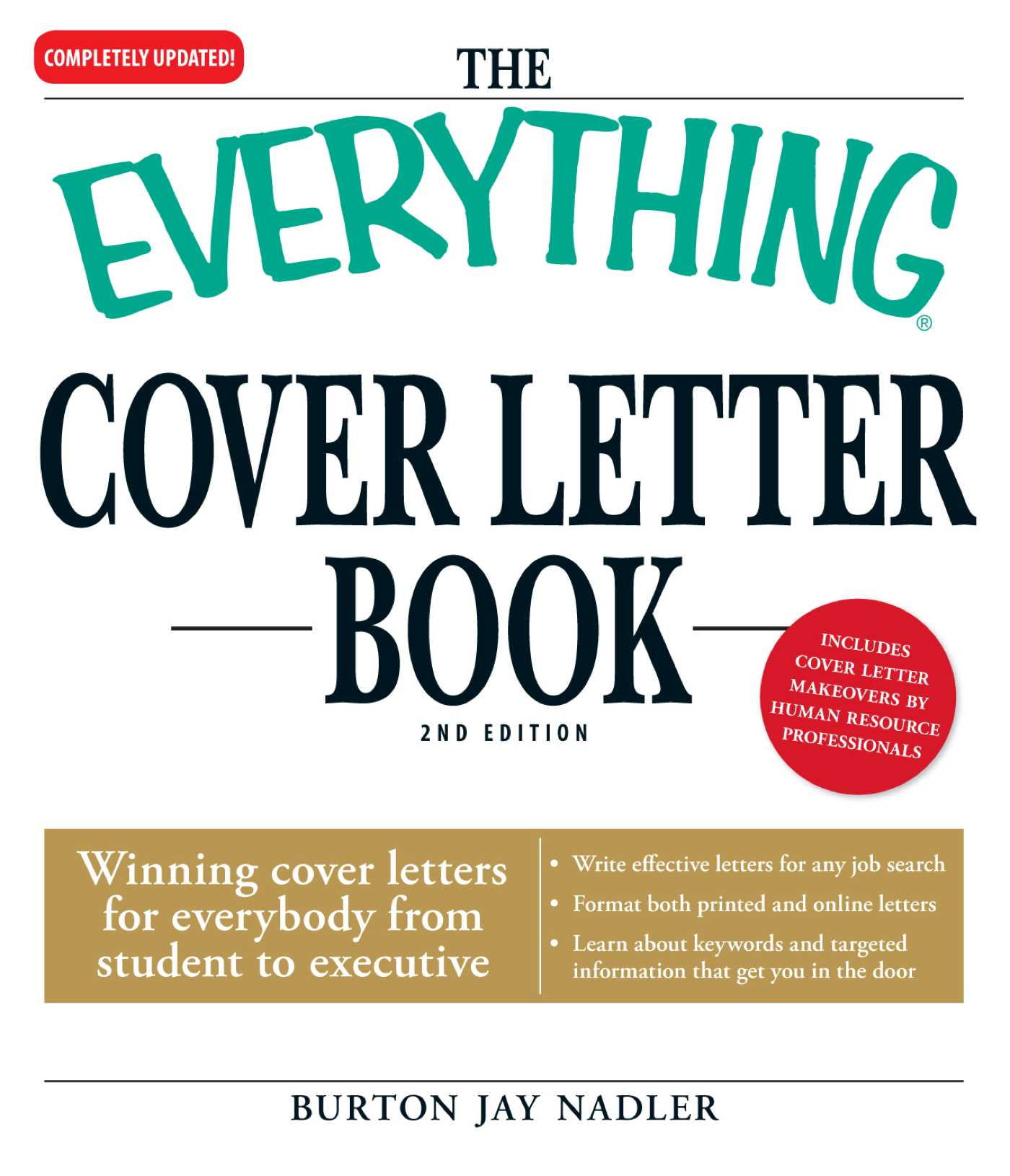 The Everything Cover Letter Book eBook by Burton Jay Nadler ...