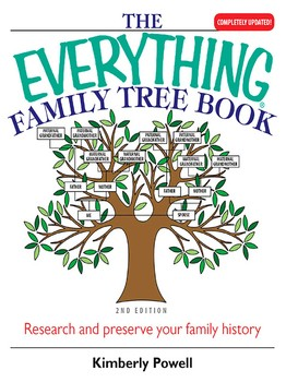 the everything family tree book ebook by kimberly powell official