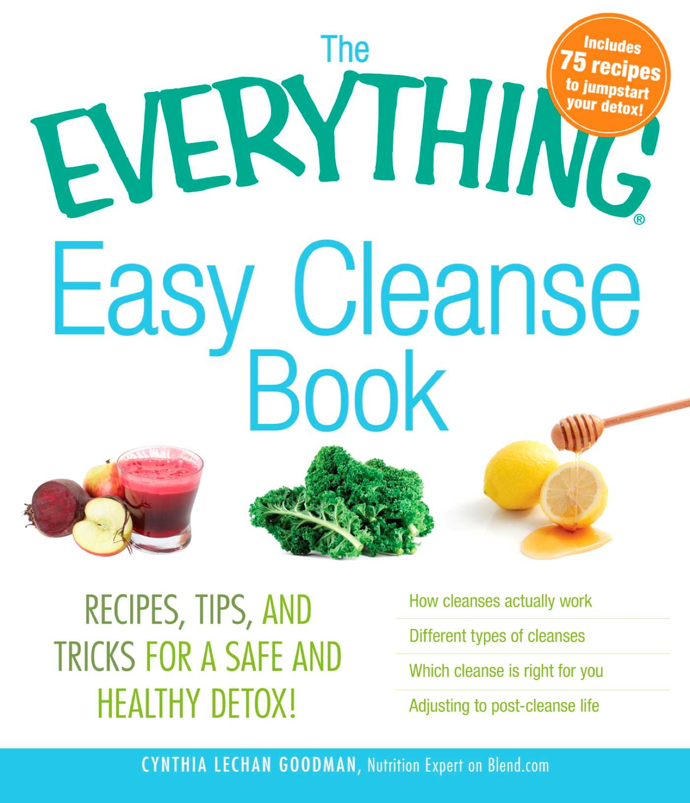 The everything easy cleanse book 9781440525476 hr