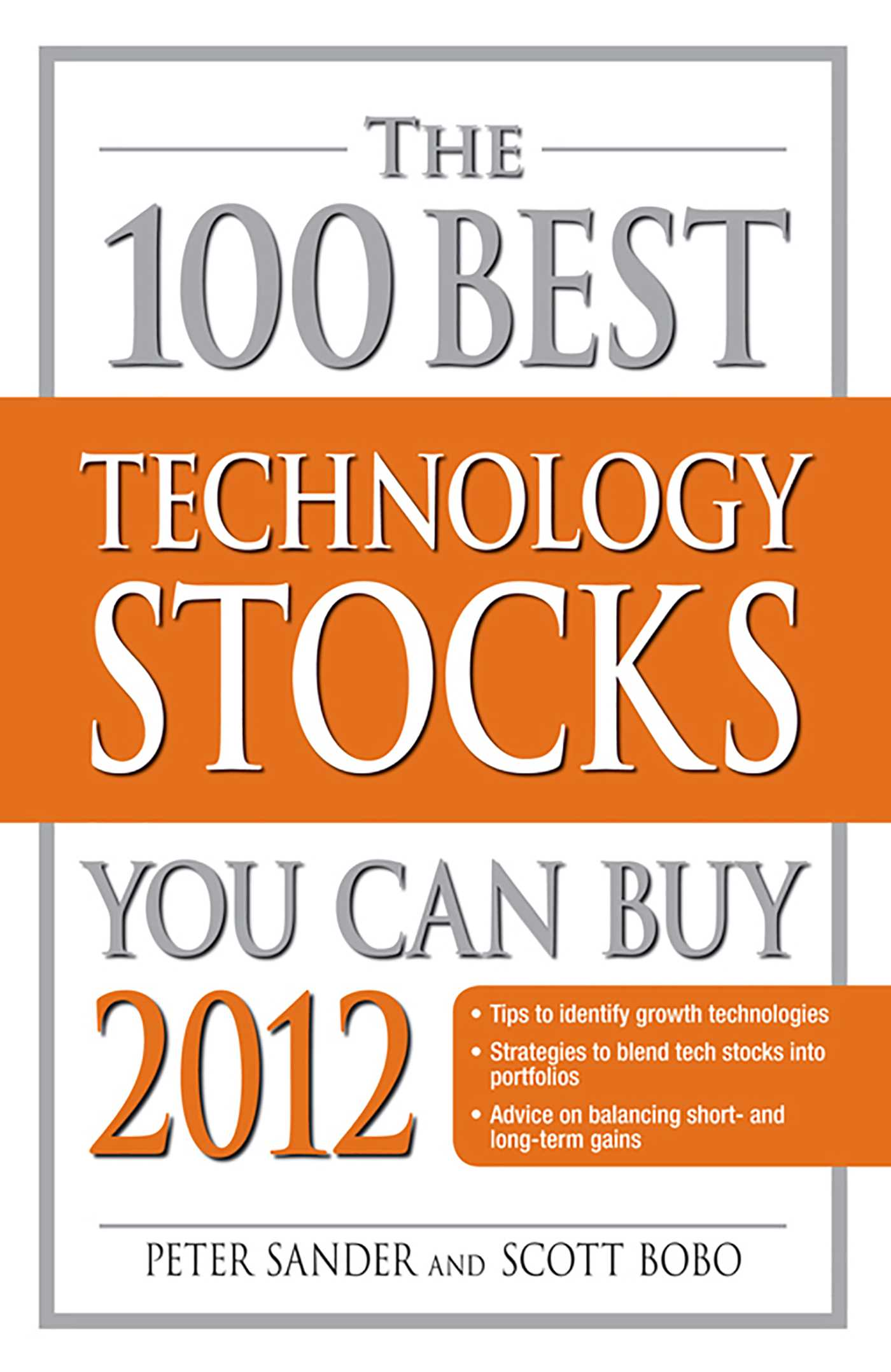 The 100 best technology stocks you can buy 2012 9781440532863 hr