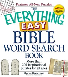The Everything Easy Bible Word Search Book