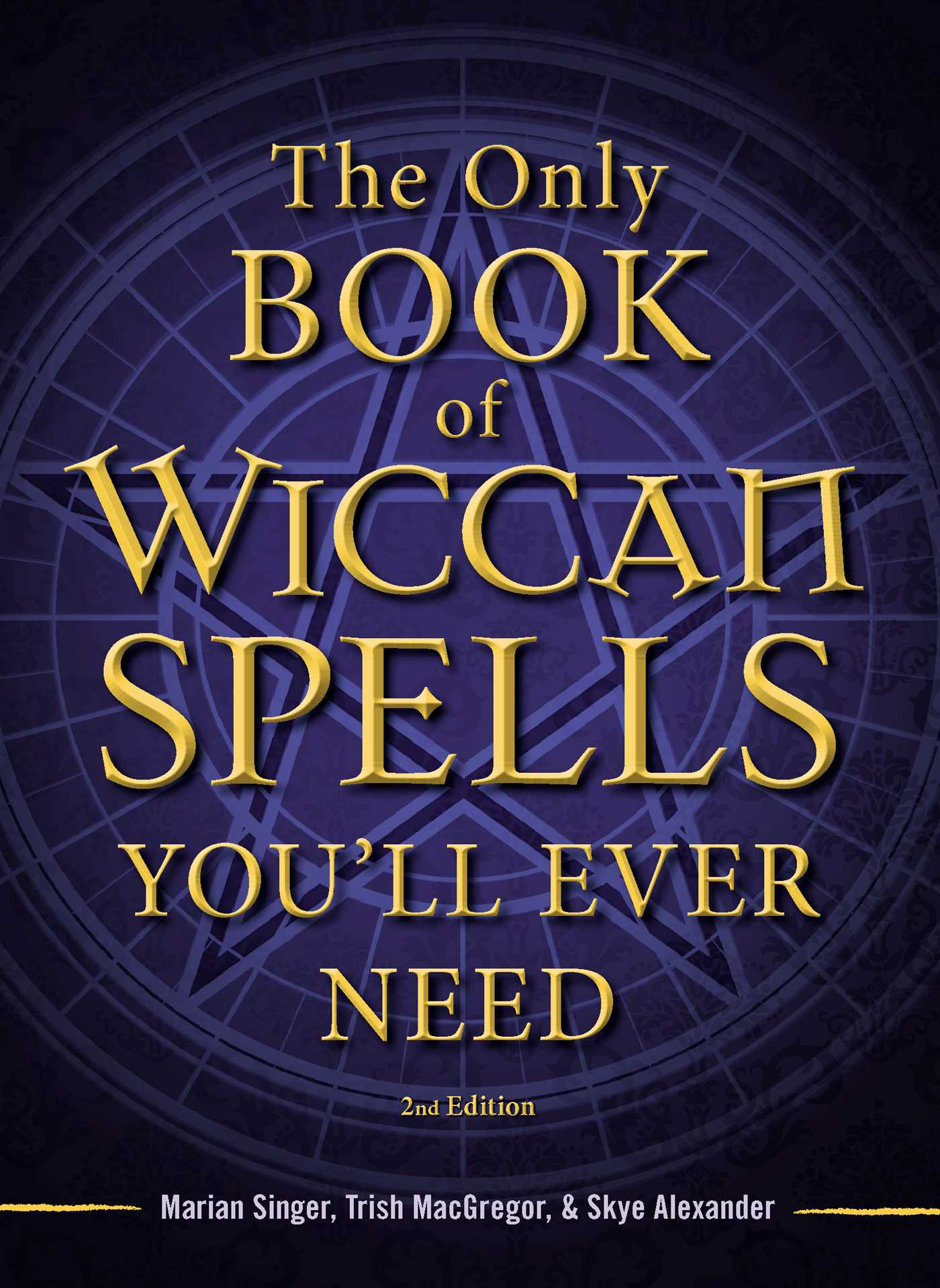 The only book of wiccan spells youll ever need 9781440542756 hr