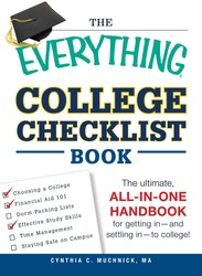 The Everything College Checklist Book