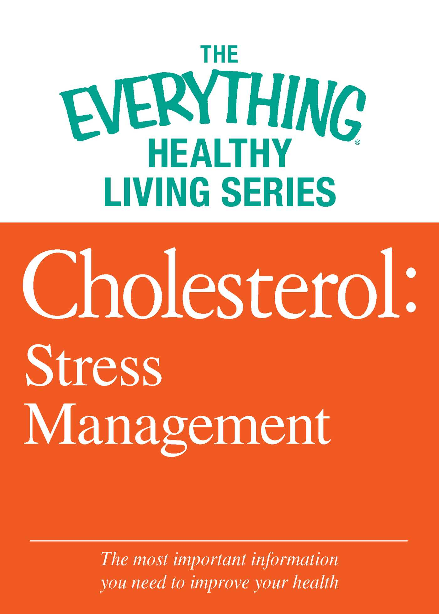 Cholesterol stress management 9781440547997 hr