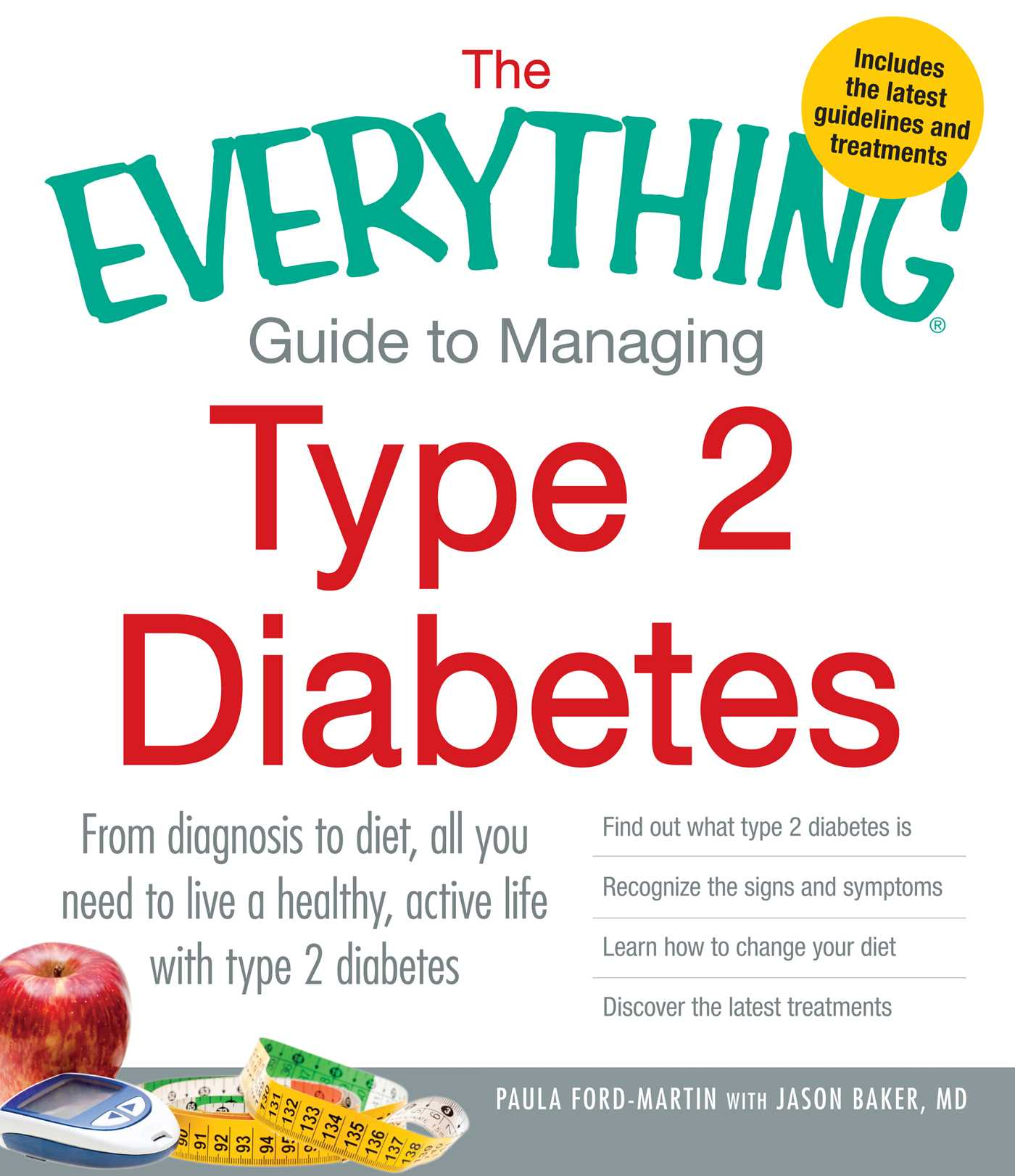 The everything guide to managing type 2 diabetes 9781440551963 hr
