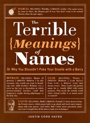 The Terrible Meanings of Names