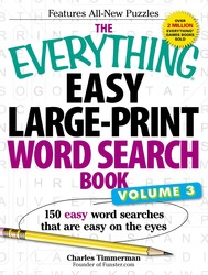 The Everything Easy Large-Print Word Search Book, Volume III