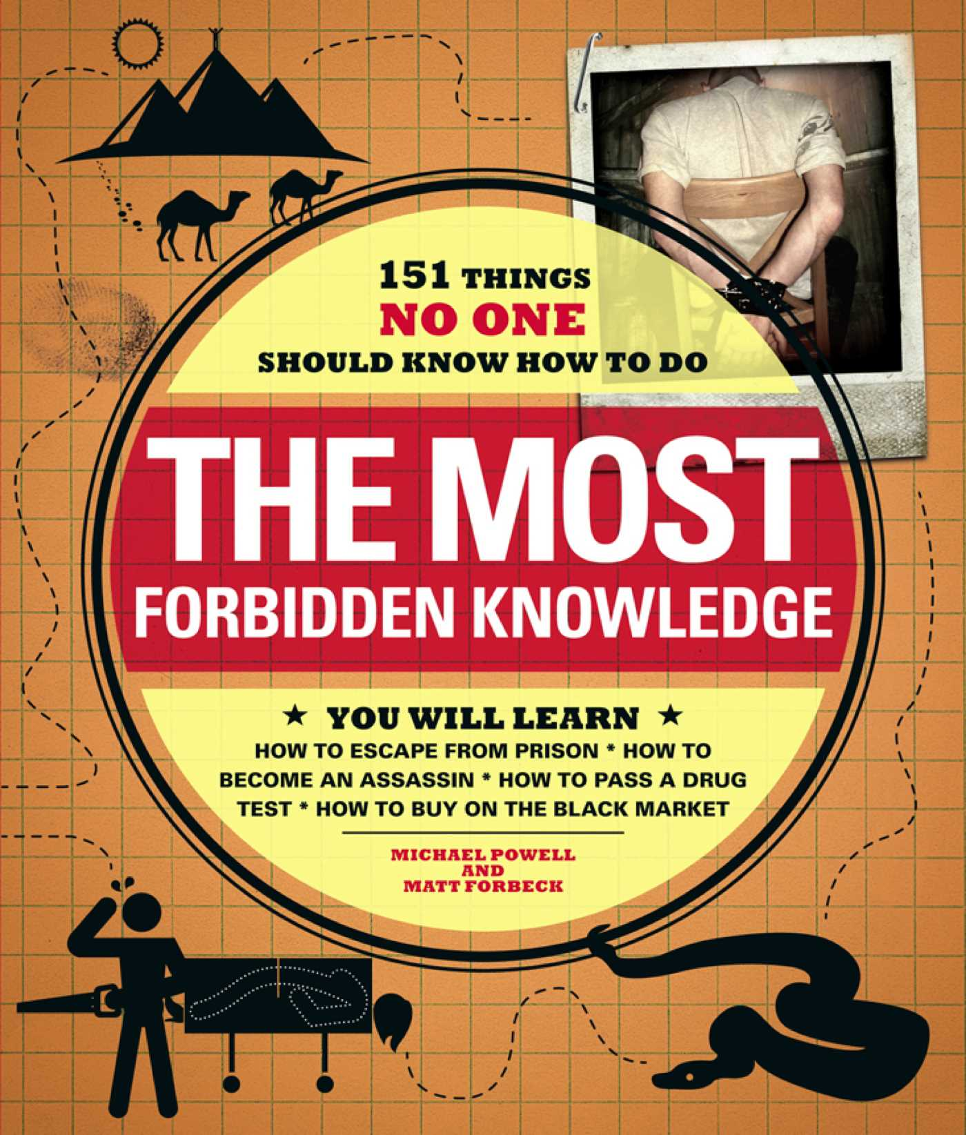 The Most Forbidden Knowledge eBook by Michael Powell, Matt Forbeck