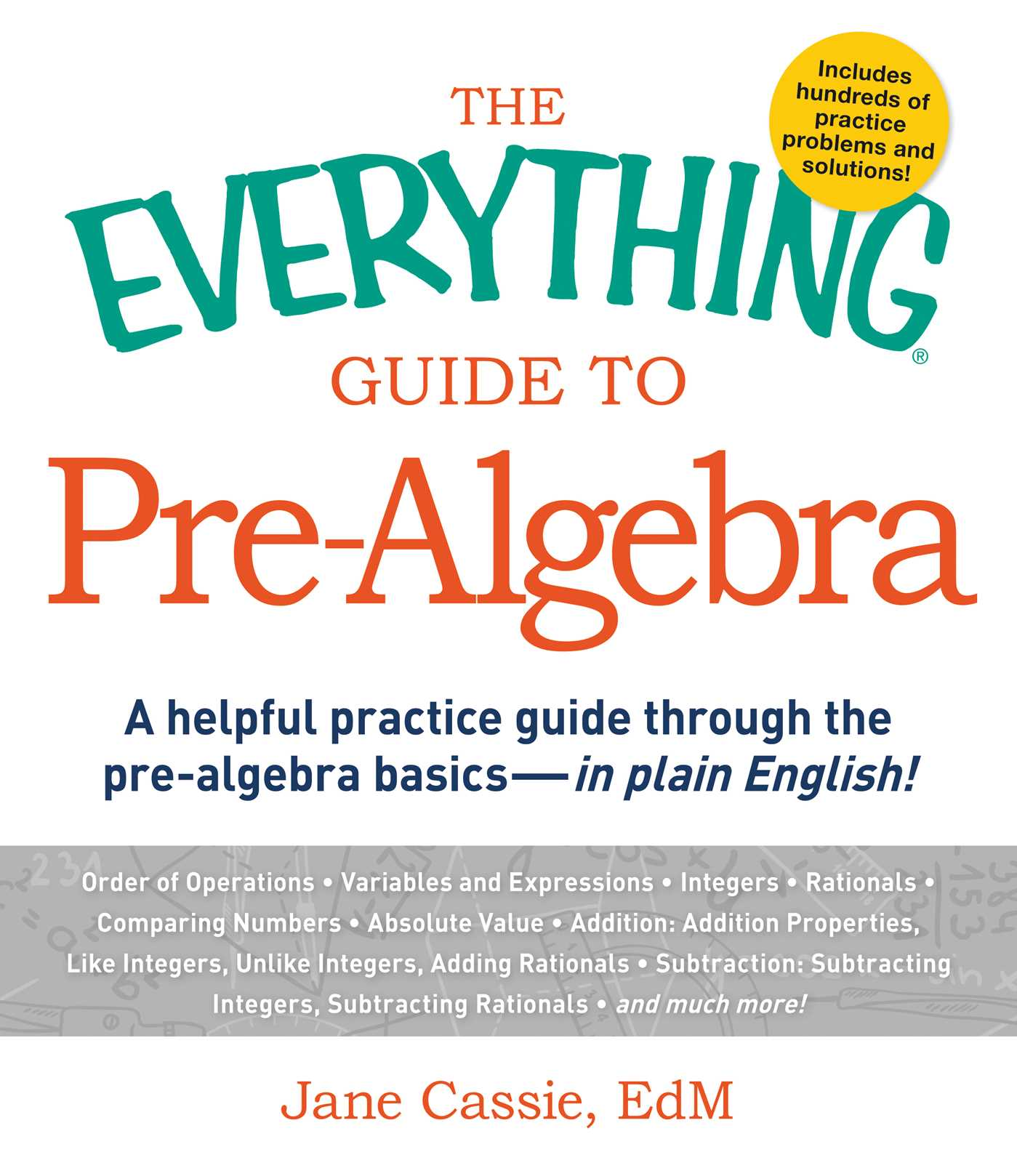 The Everything Guide to Pre-Algebra eBook by Jane Cassie