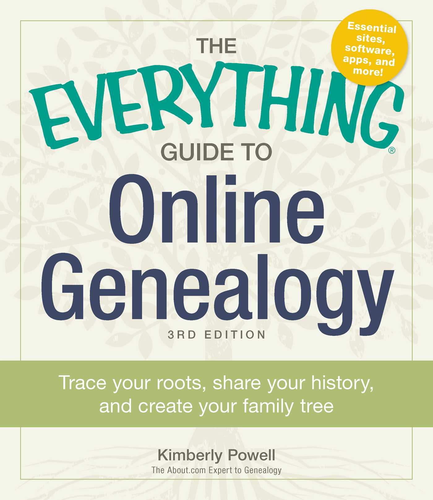 the everything guide to online genealogy book by kimberly powell